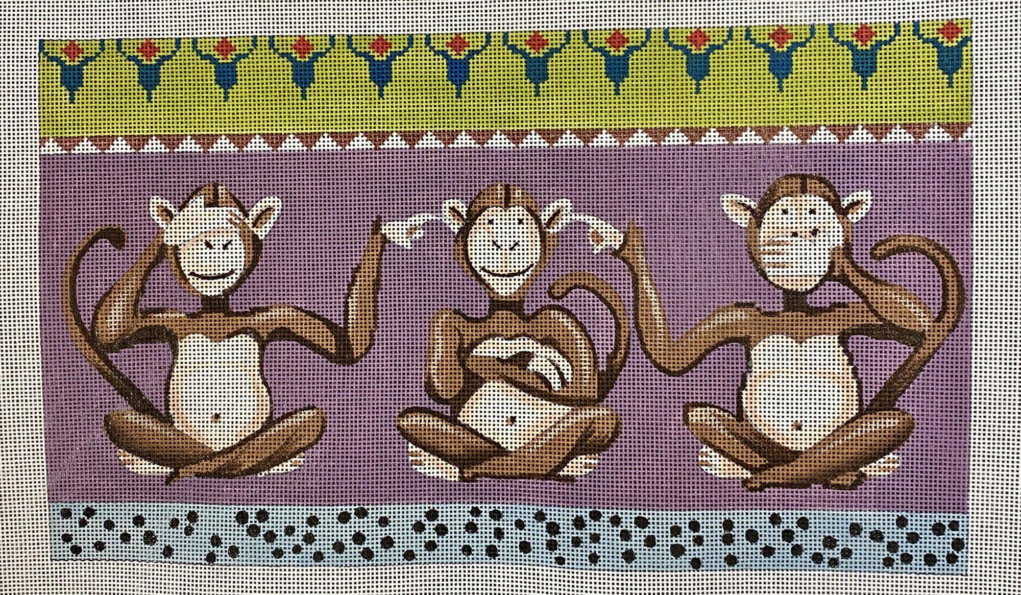 3 monkey...hear, see, speak
