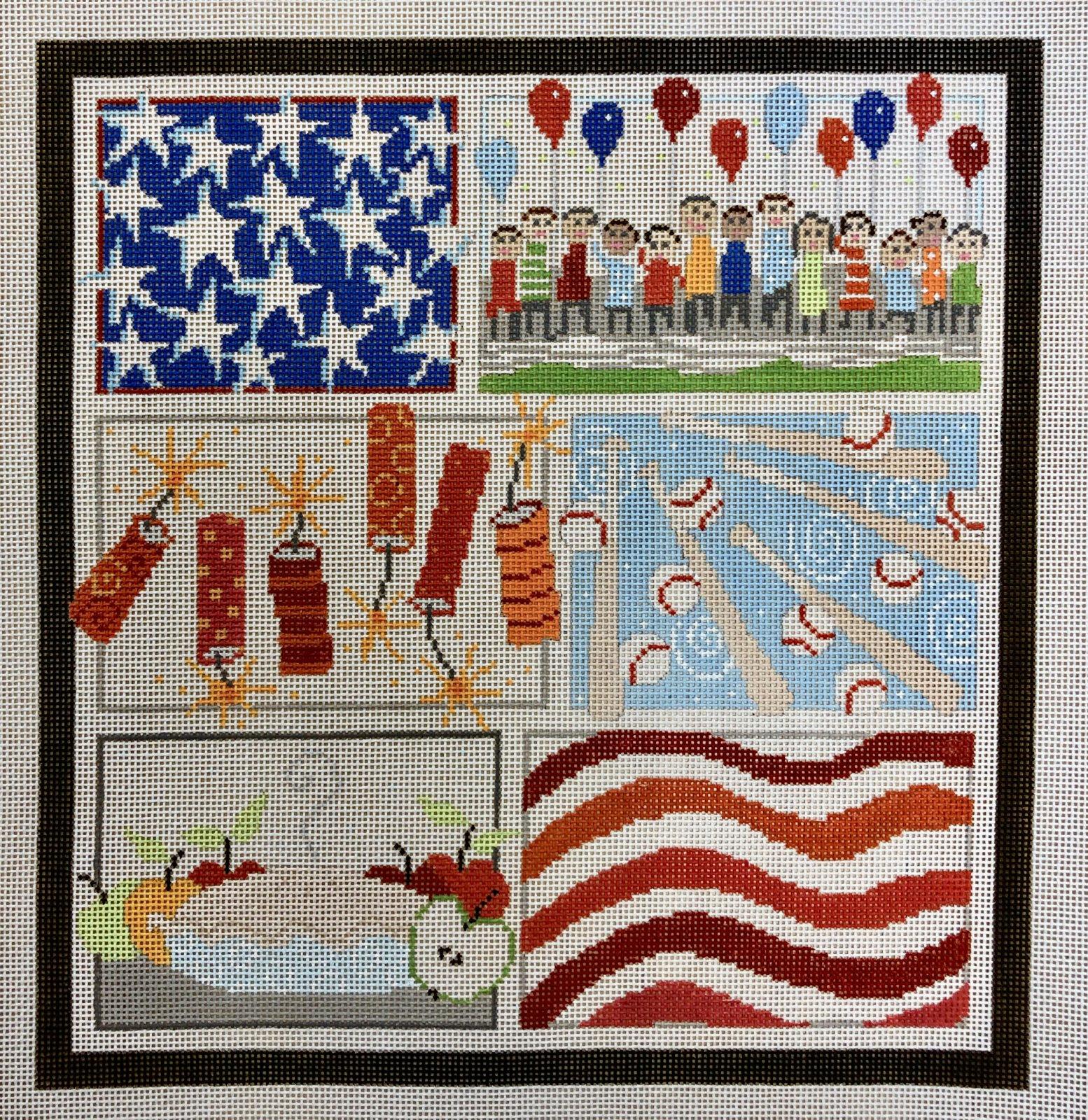 patriotic w stitch guide