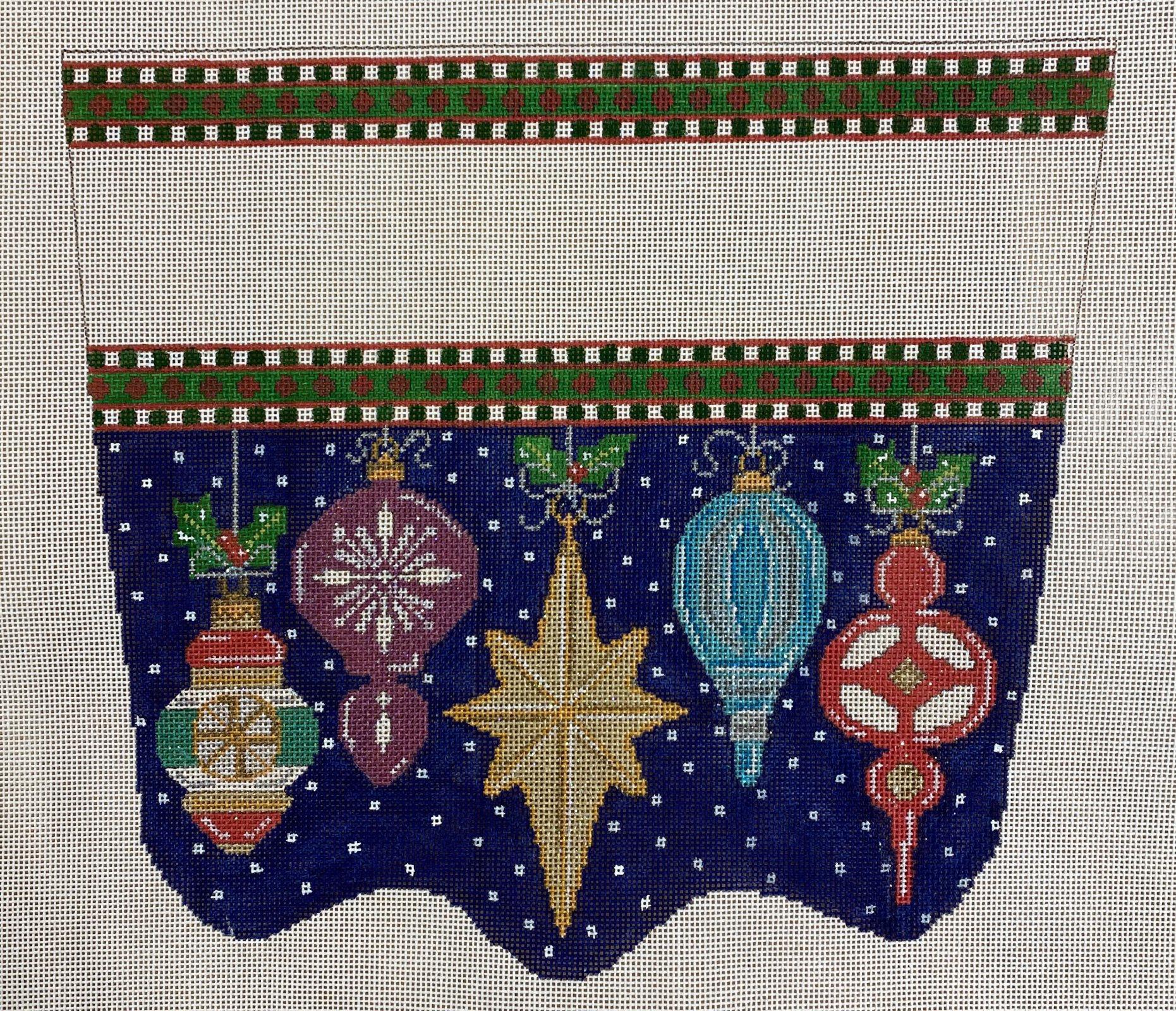 vintage ornament, jewel/star