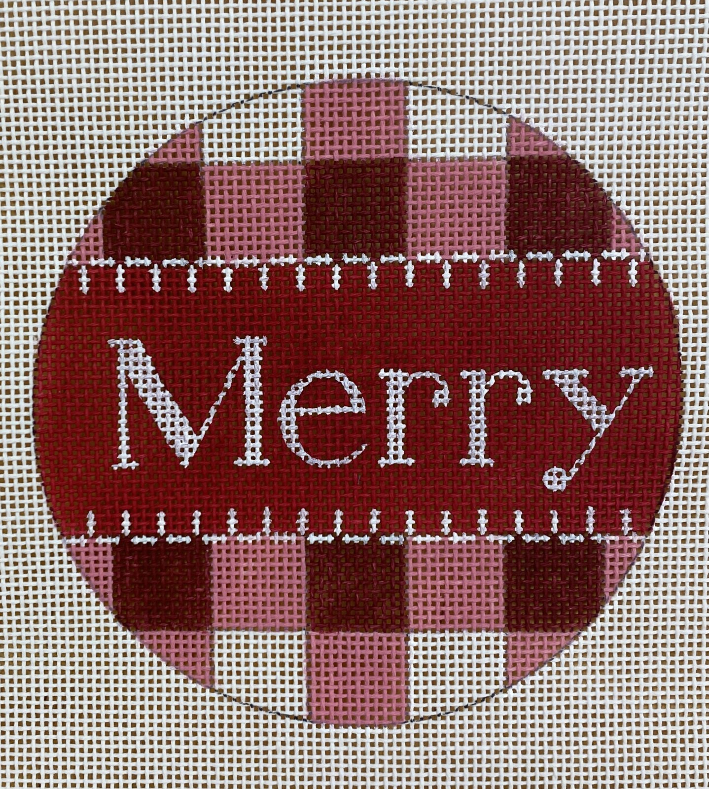 red gingham, merry