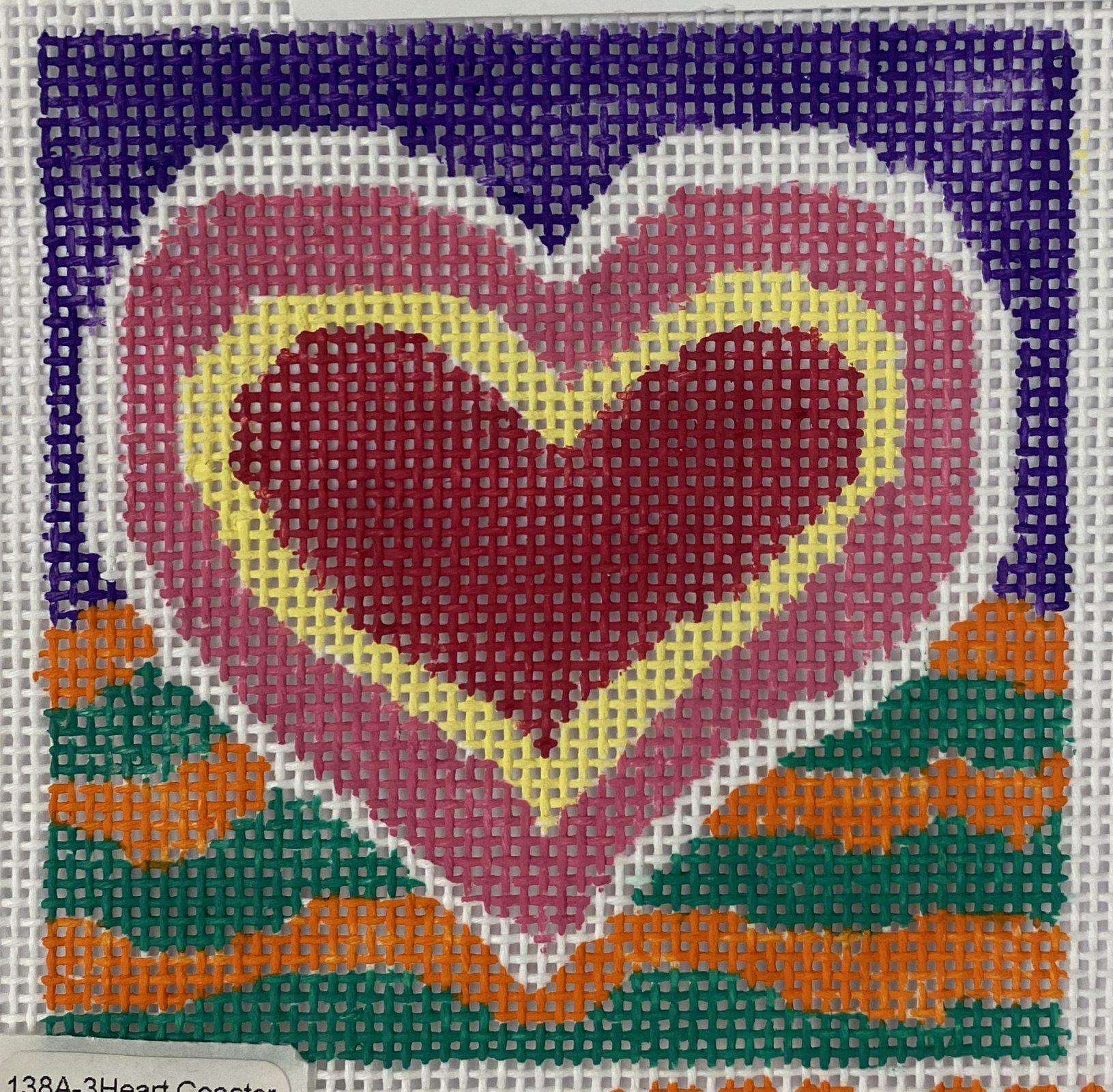 heart coaster  #3