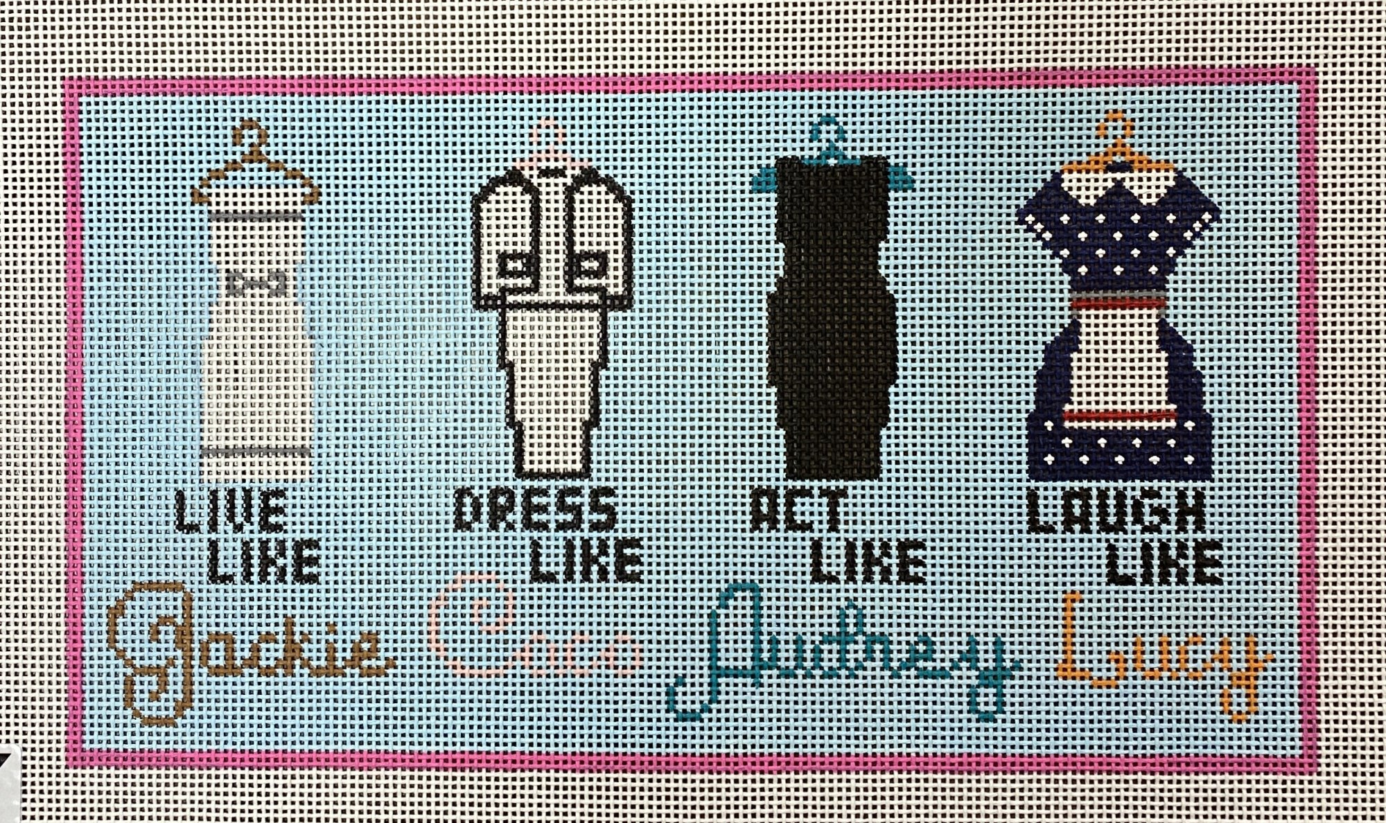 live like... Jackie, Coco, Audrey & Lucy