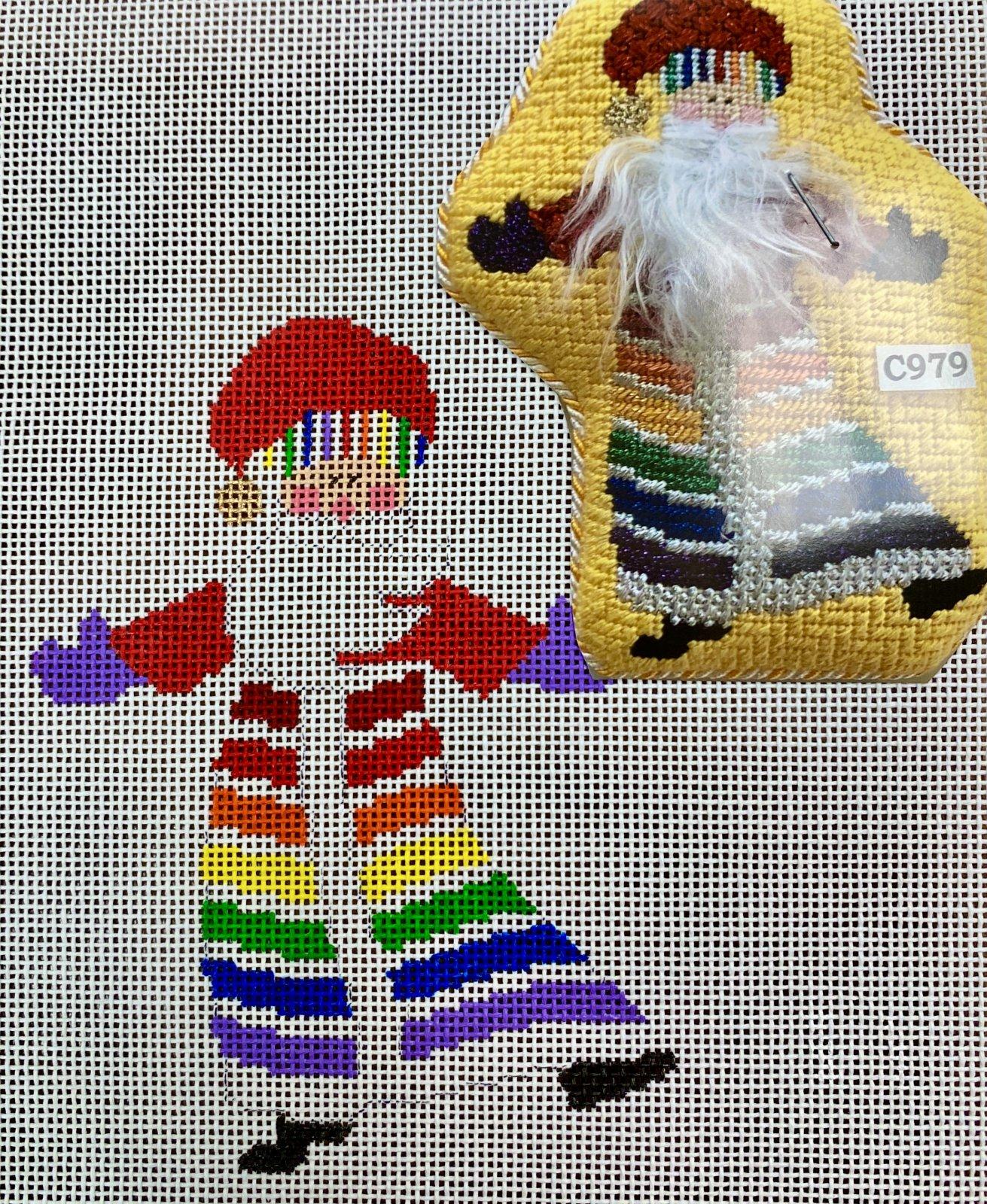 rainbow santa w stitch guide