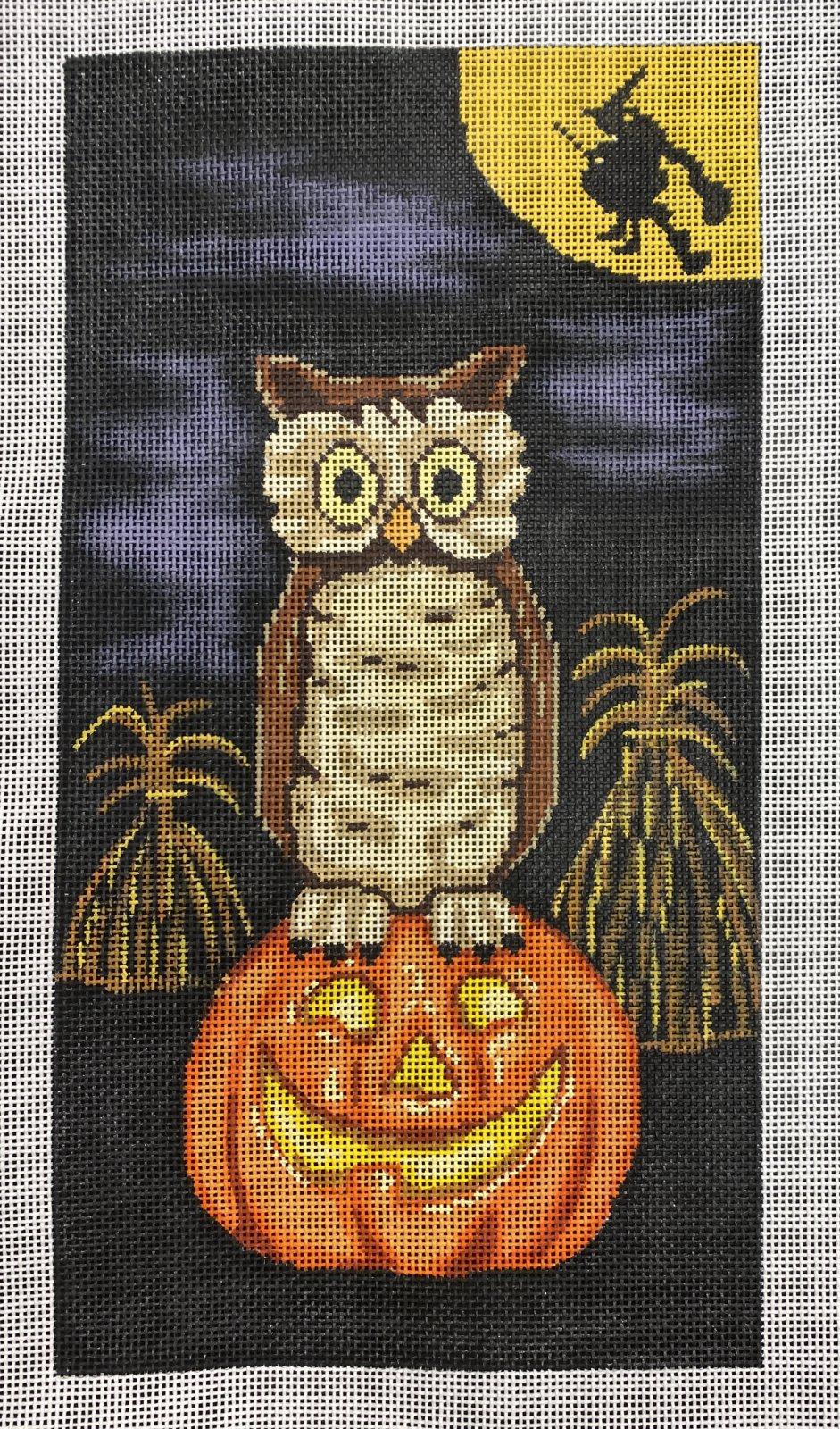pumpkin patch owl