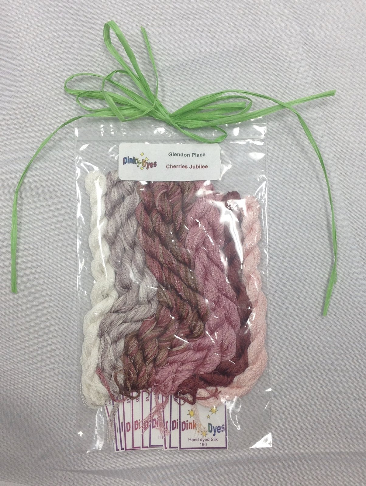 dinky dyes silk thread set