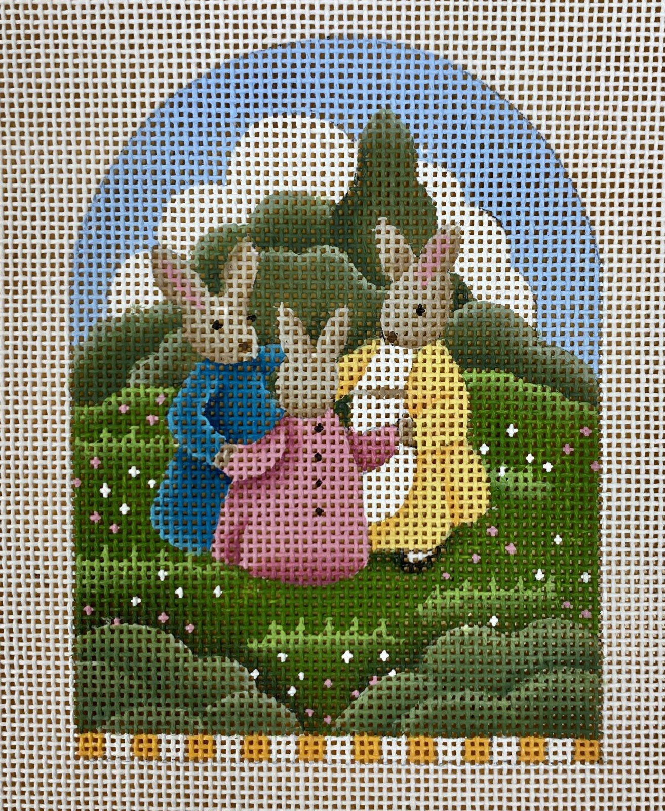 bunny, ring around the rosie