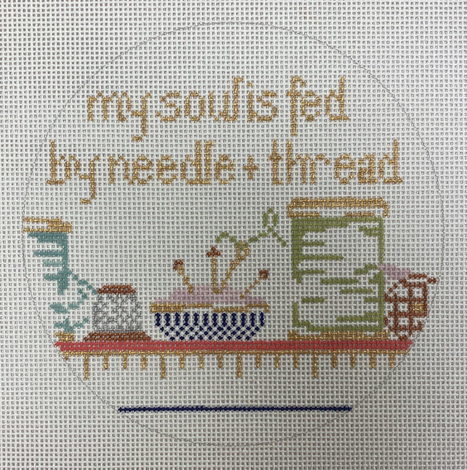 my soul is fed w needle & thread