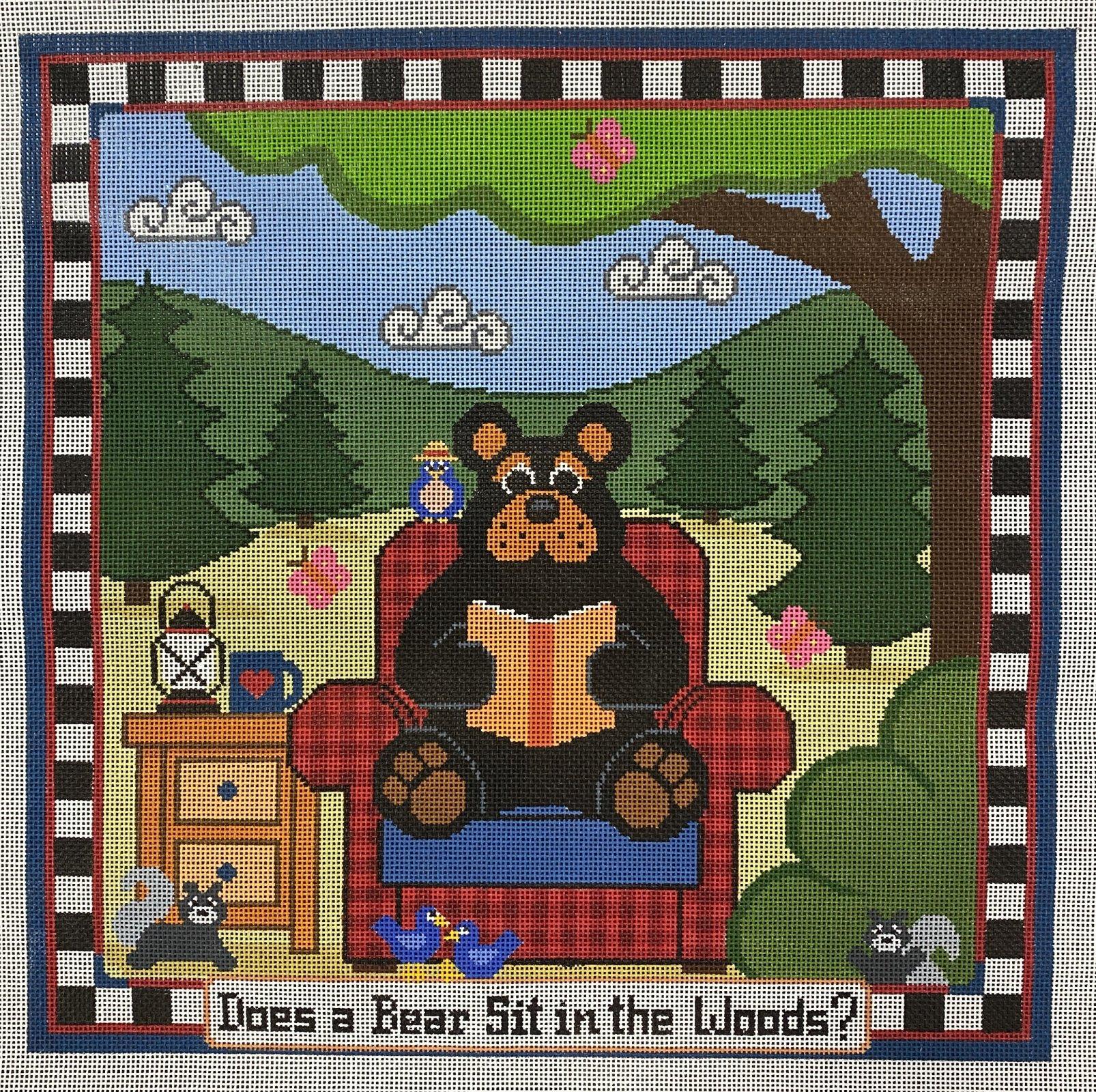 does a bear sit...
