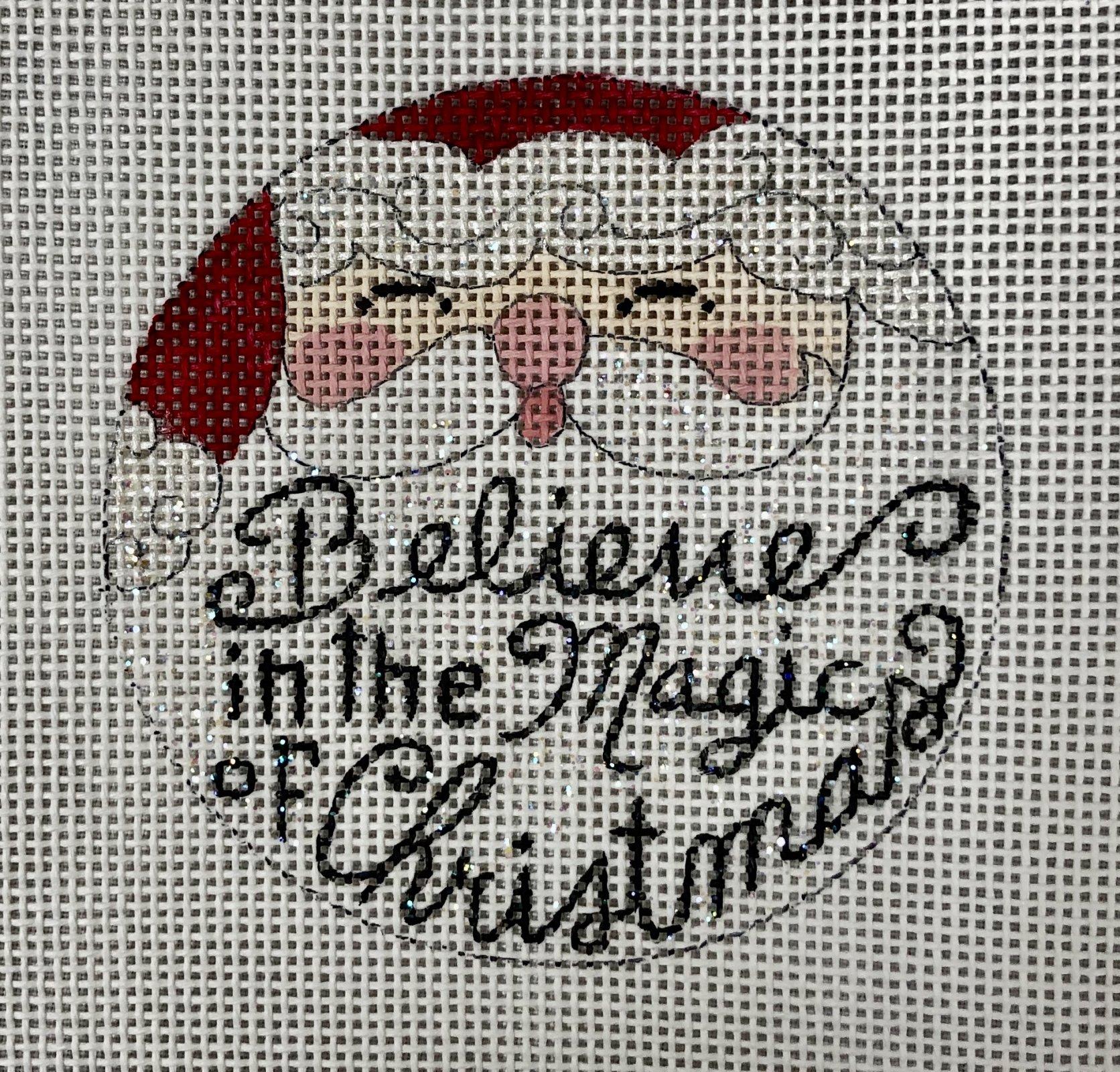 believe in magic ornament
