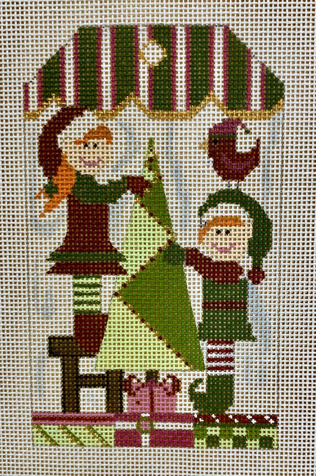 santa's helpers w stitch guide