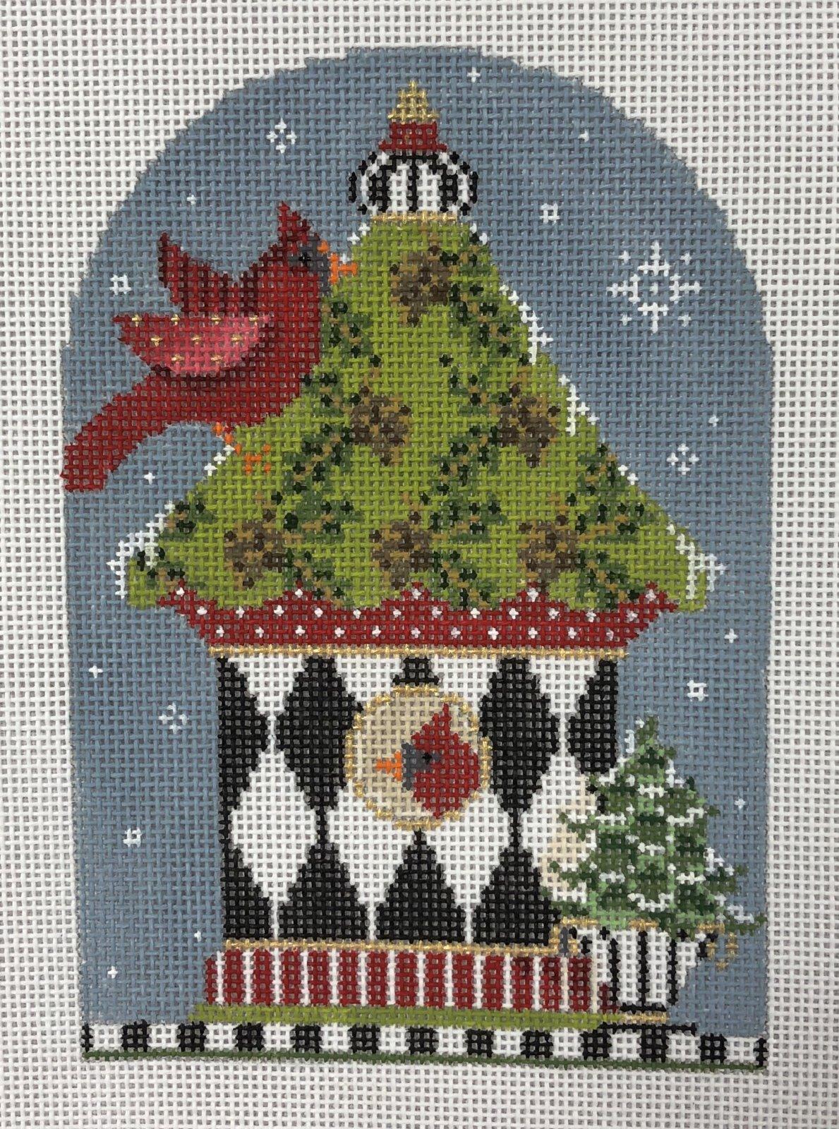 birdhouse, winter 10