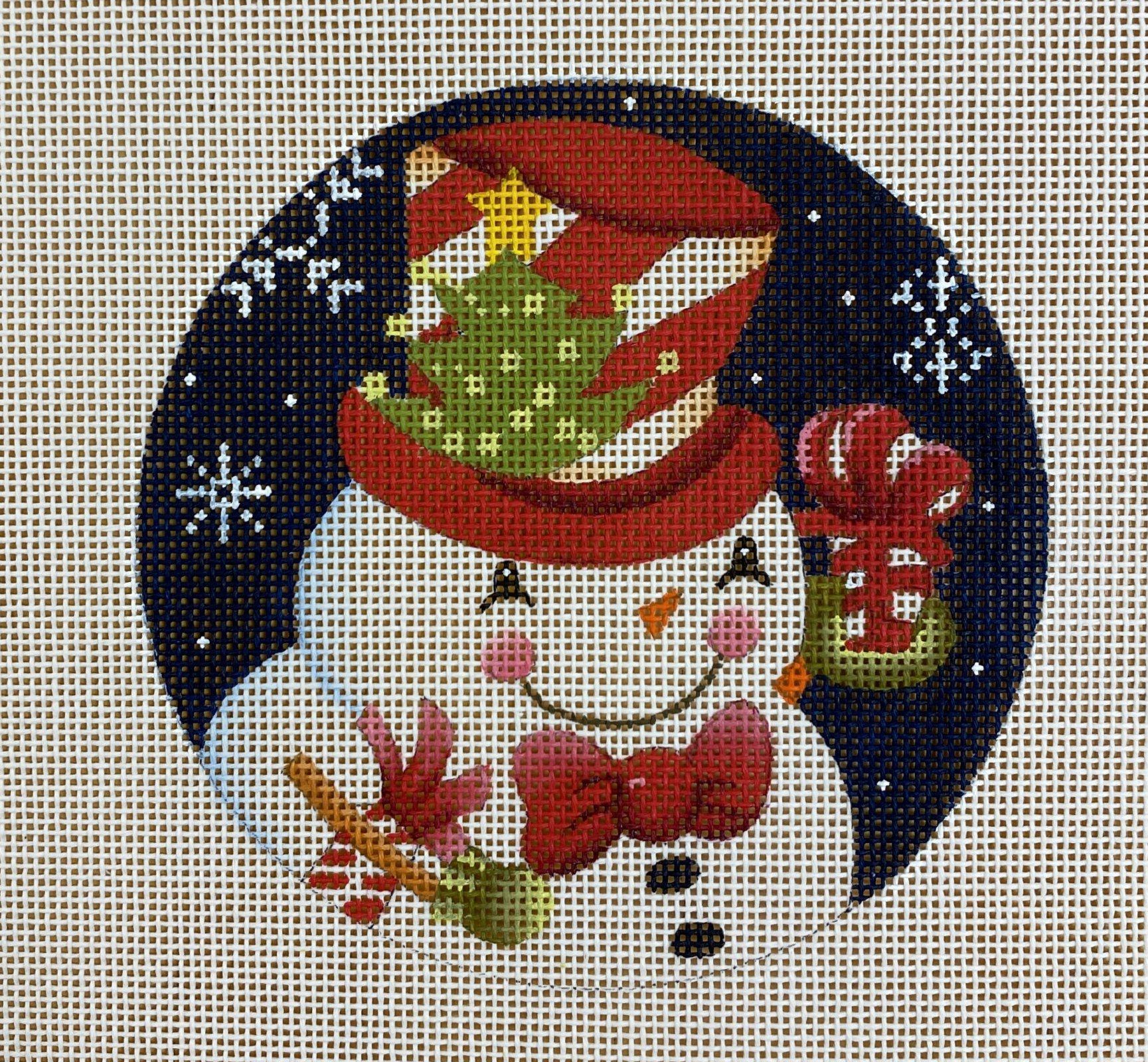 snowman w tree