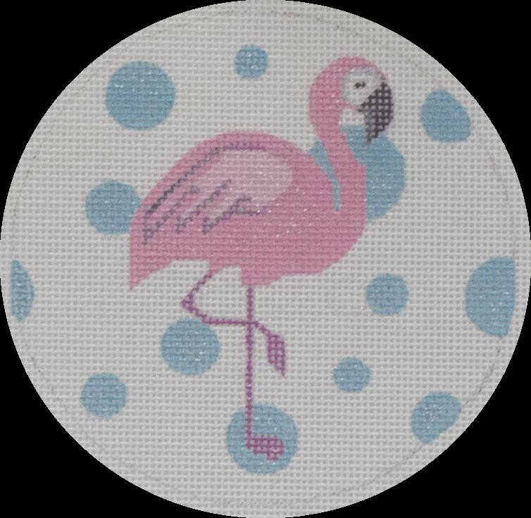 flamingo round