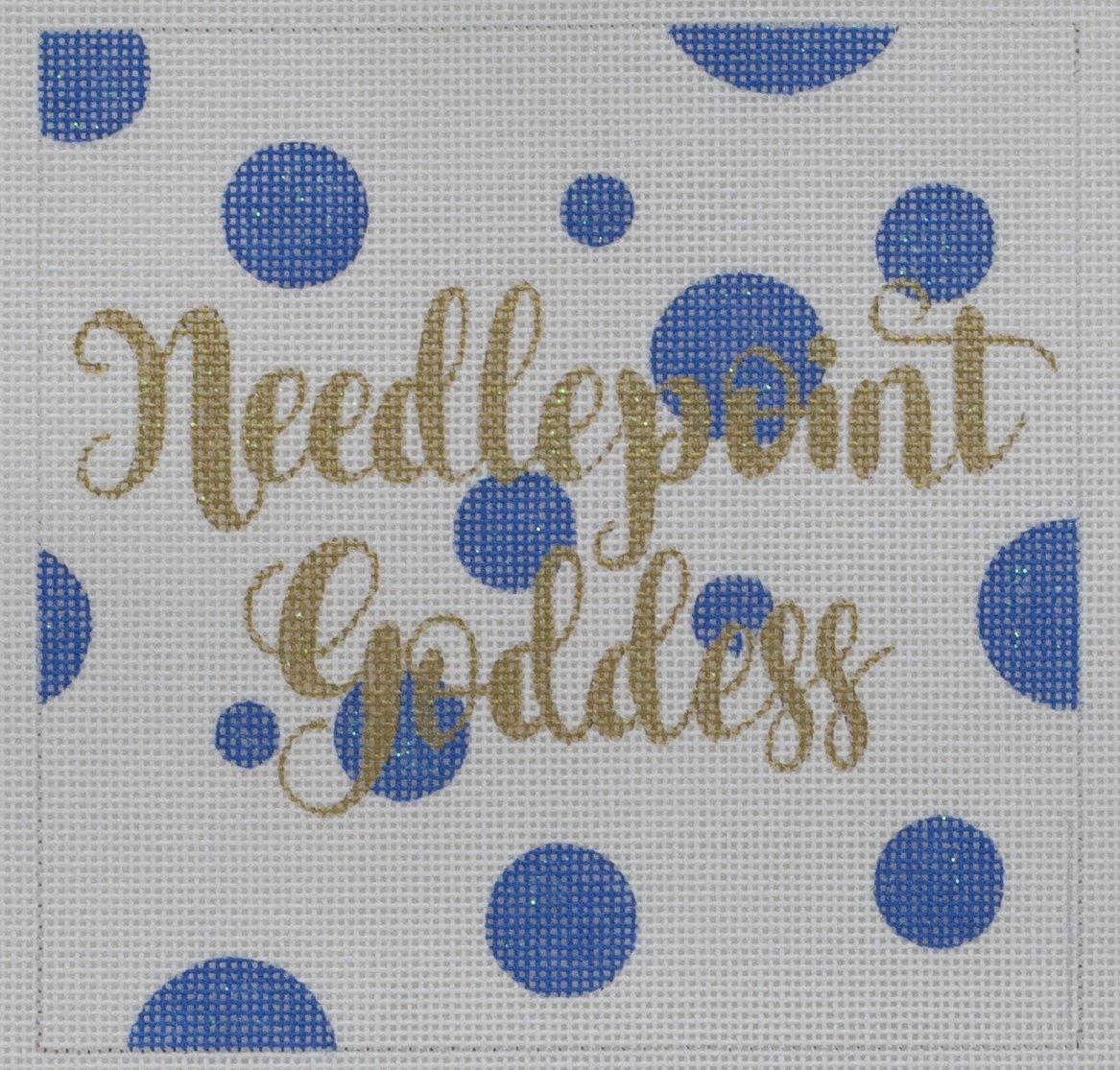 needlepoint goddess