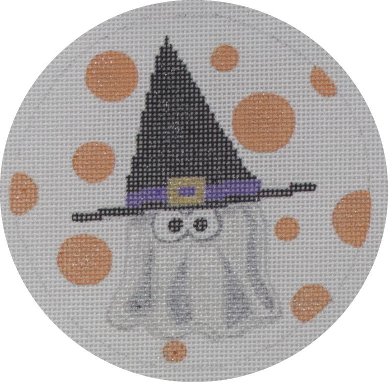 ghost in a hat