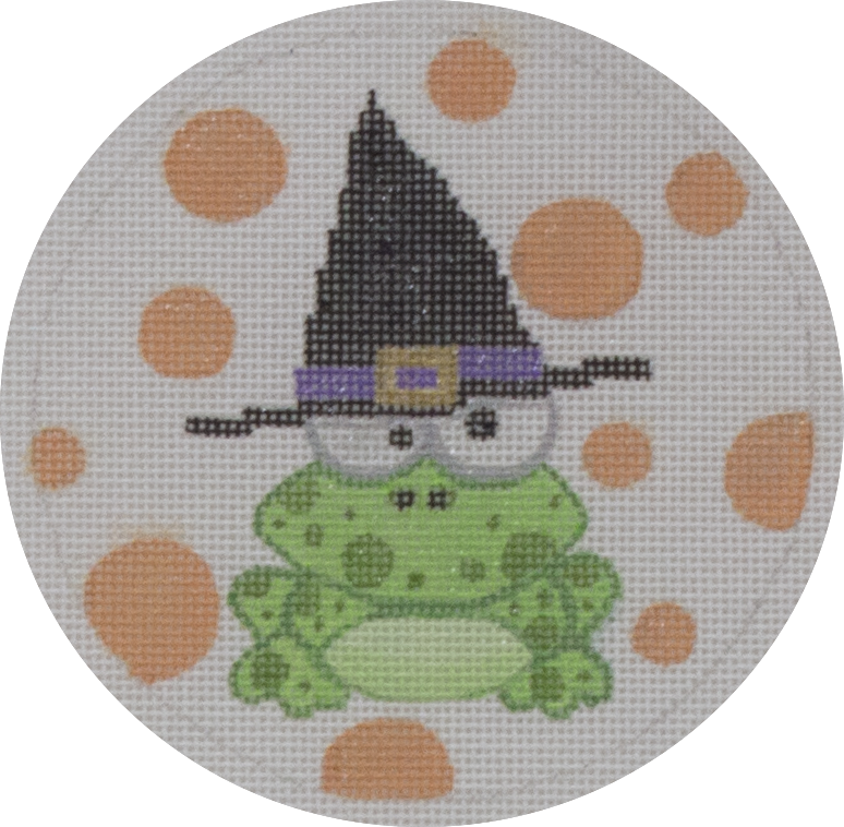 frog in a hat