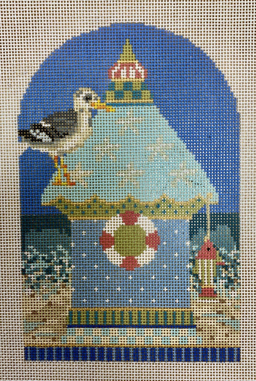 ocean blue seagull house