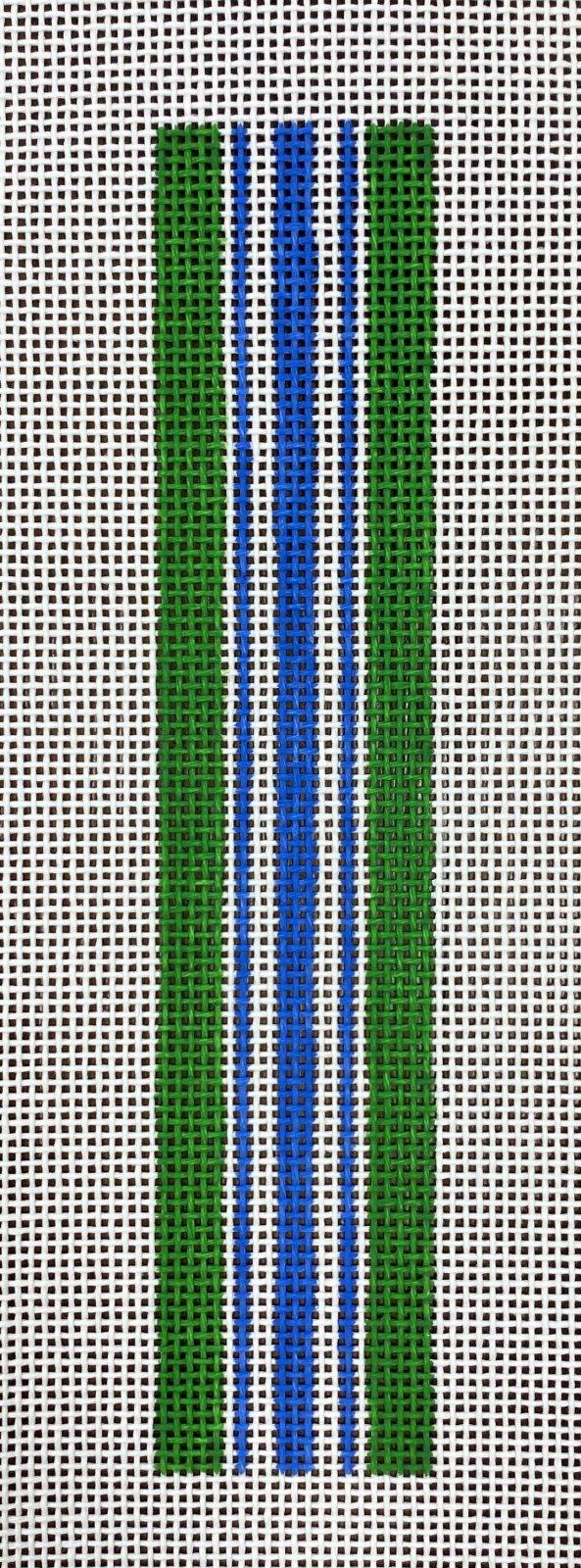 striped key fob