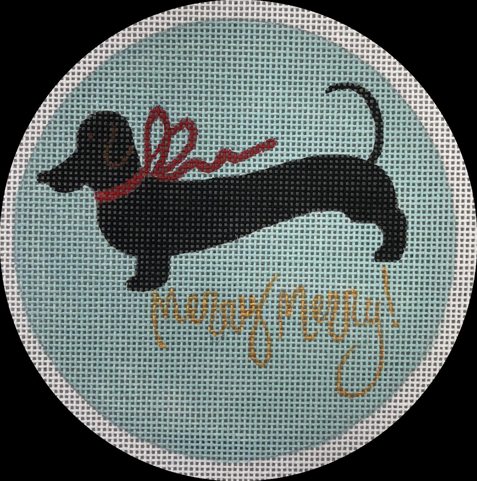black dachshund merry