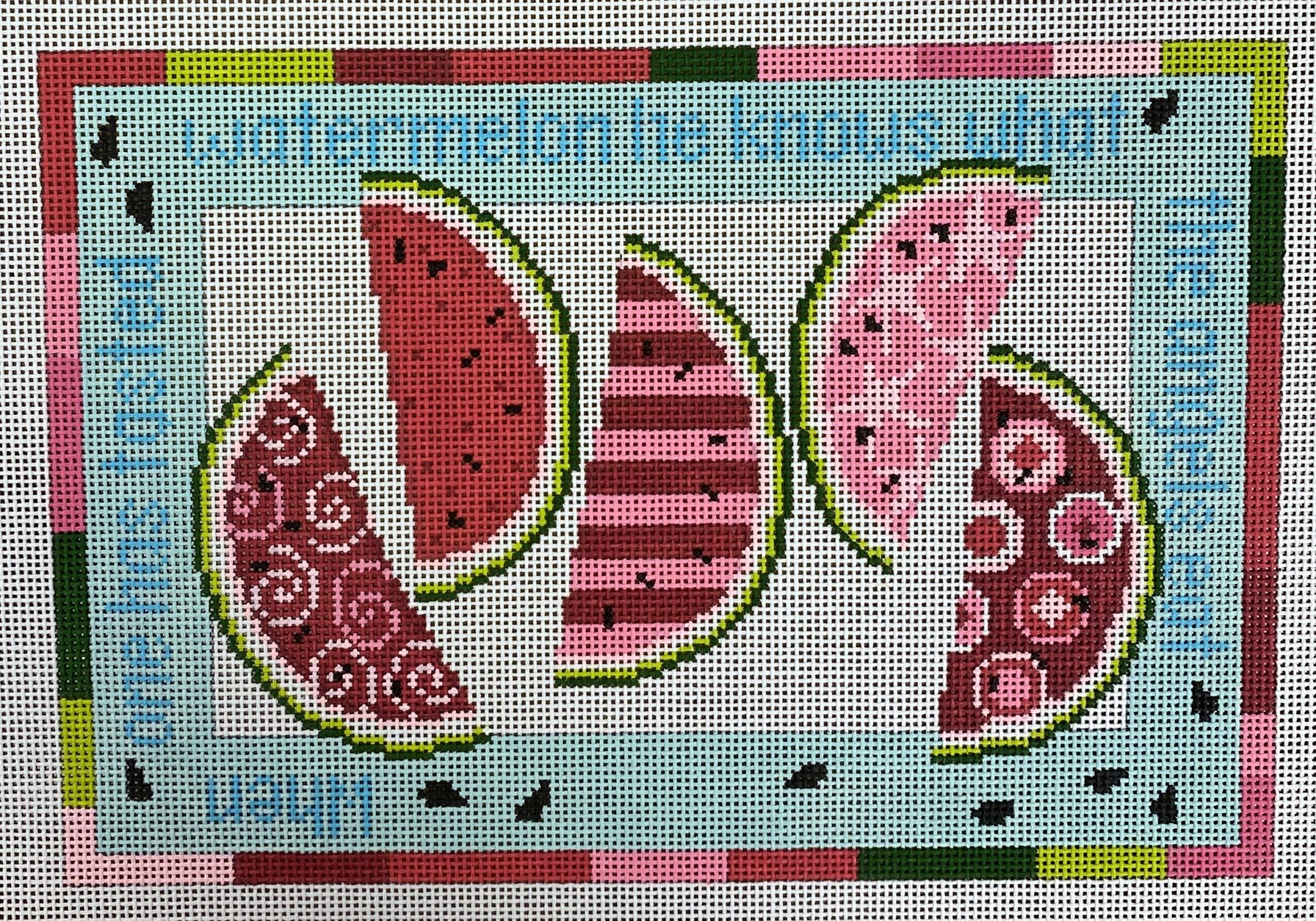 watermelon, fives