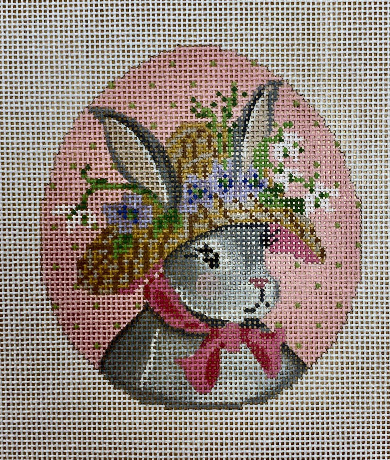 miss snowdrop violet bunny egg