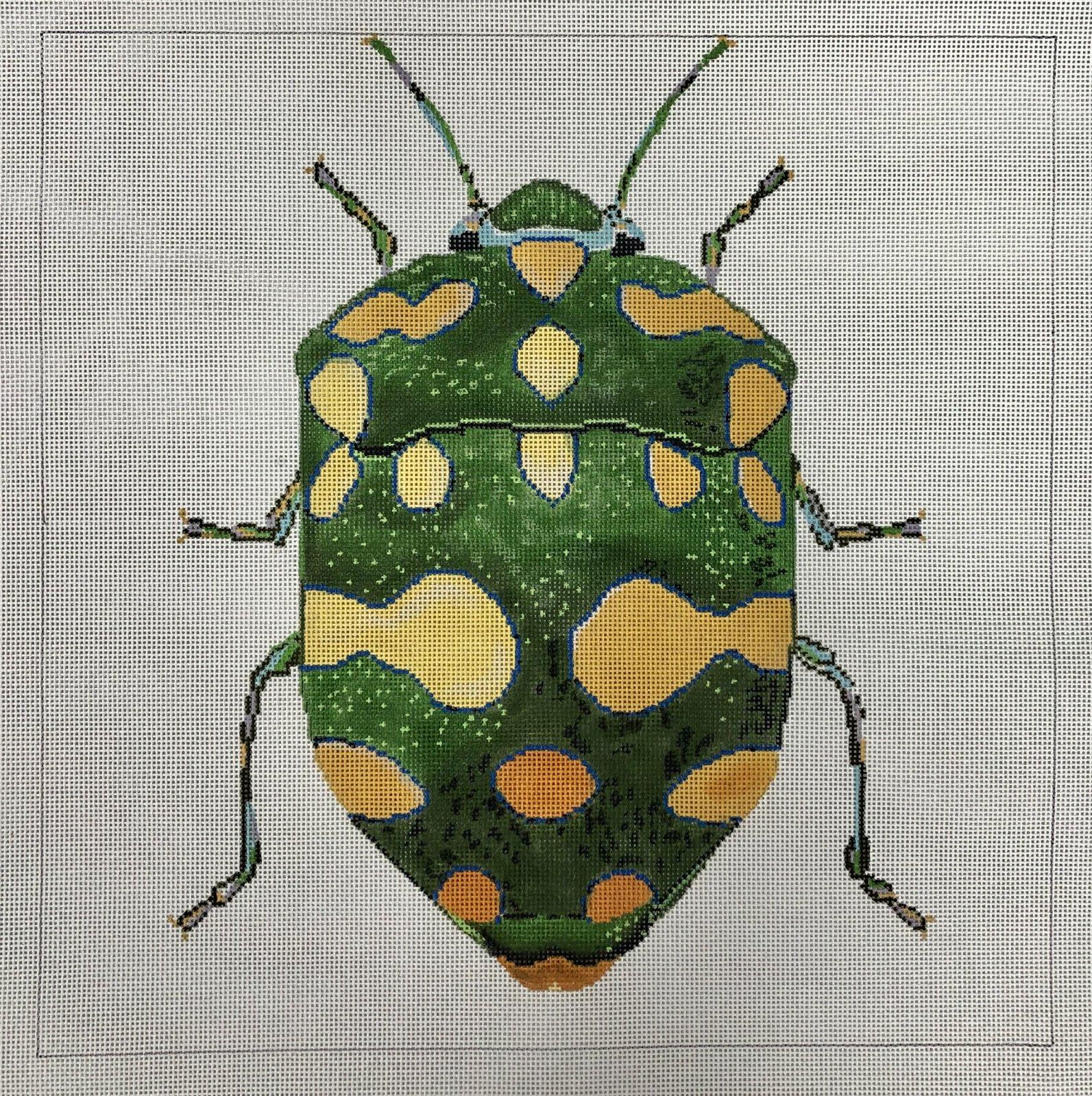 big green & yellow bug