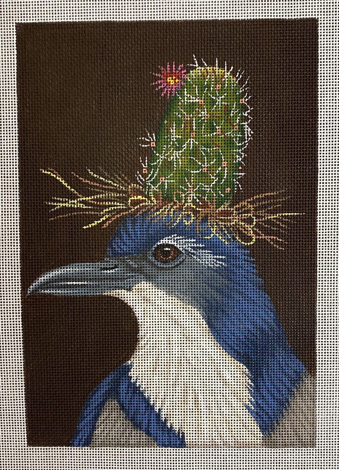 cactus bluebird