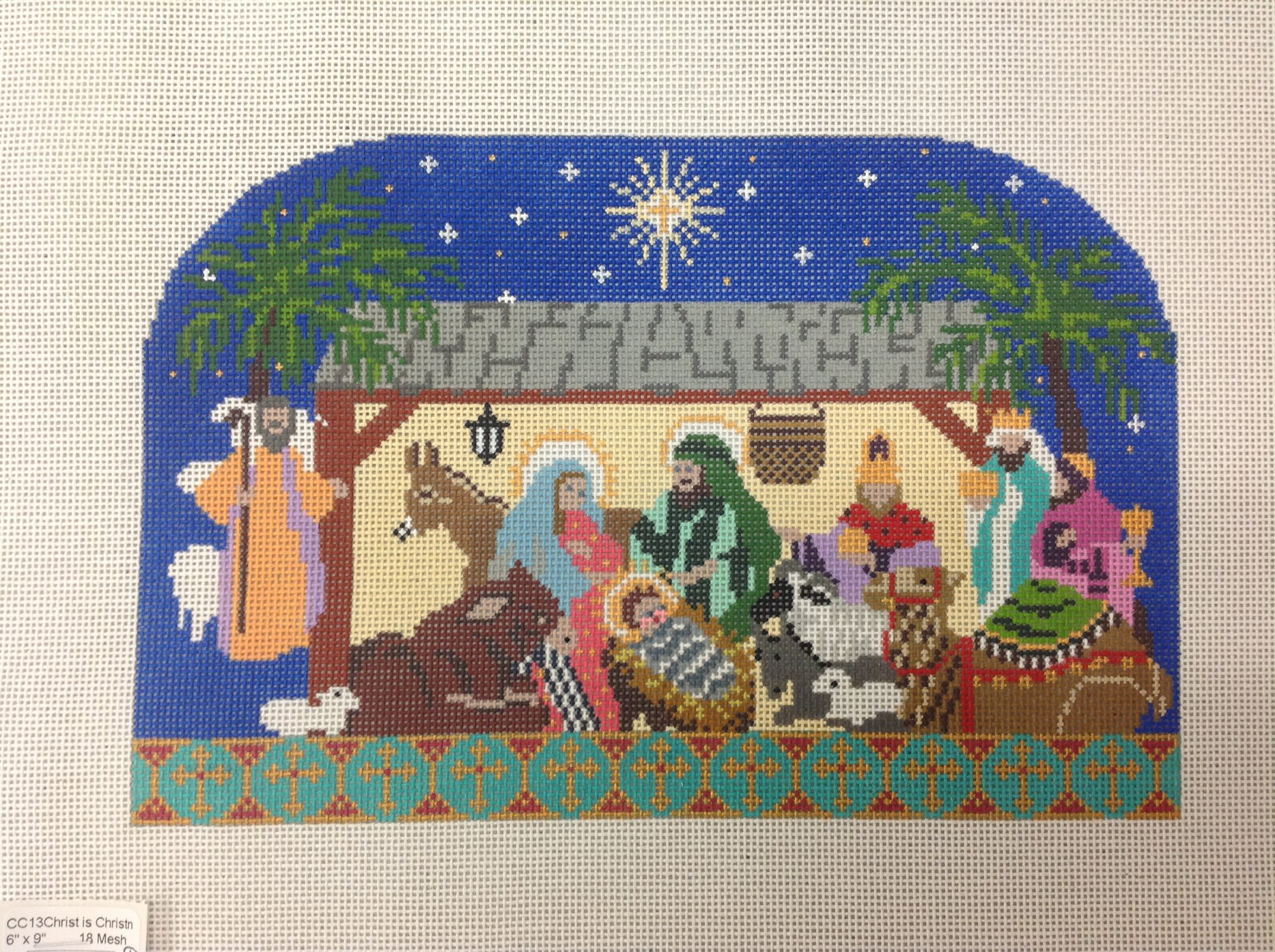 Christ is christmas nativity w stitch guide
