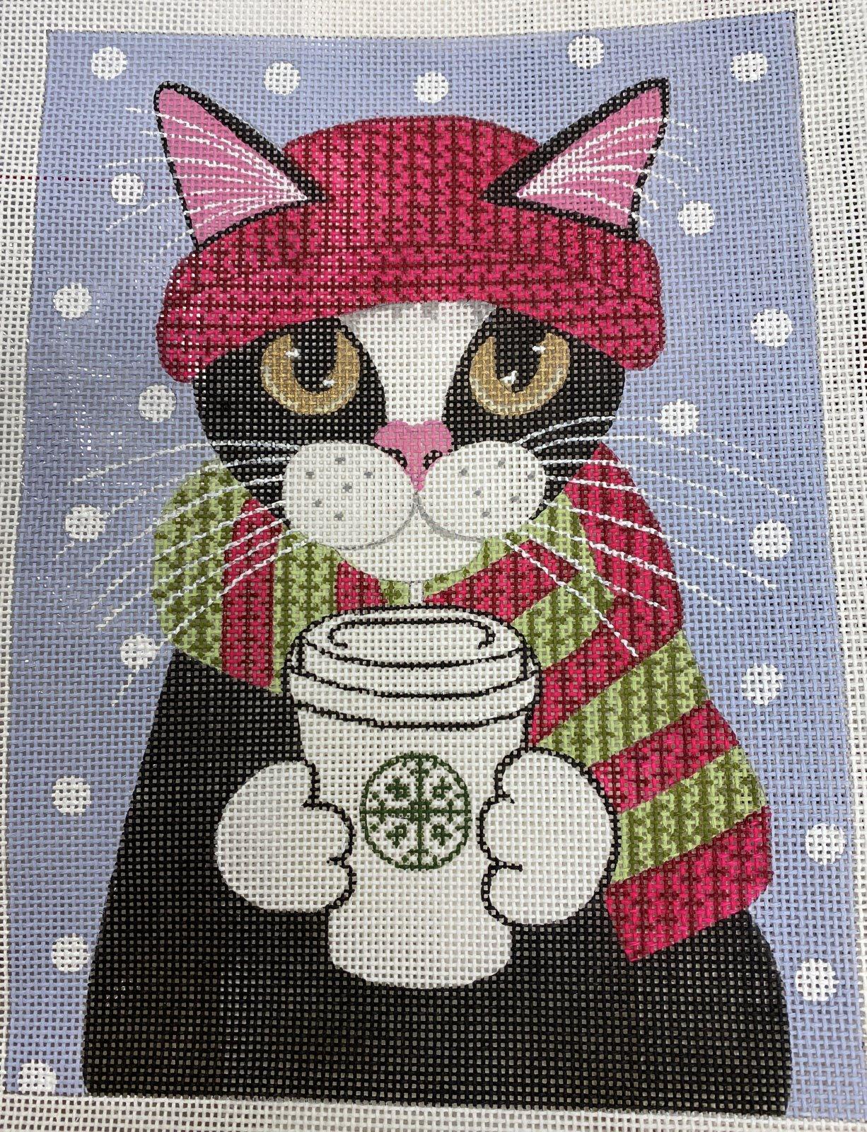 keeping warm, cat