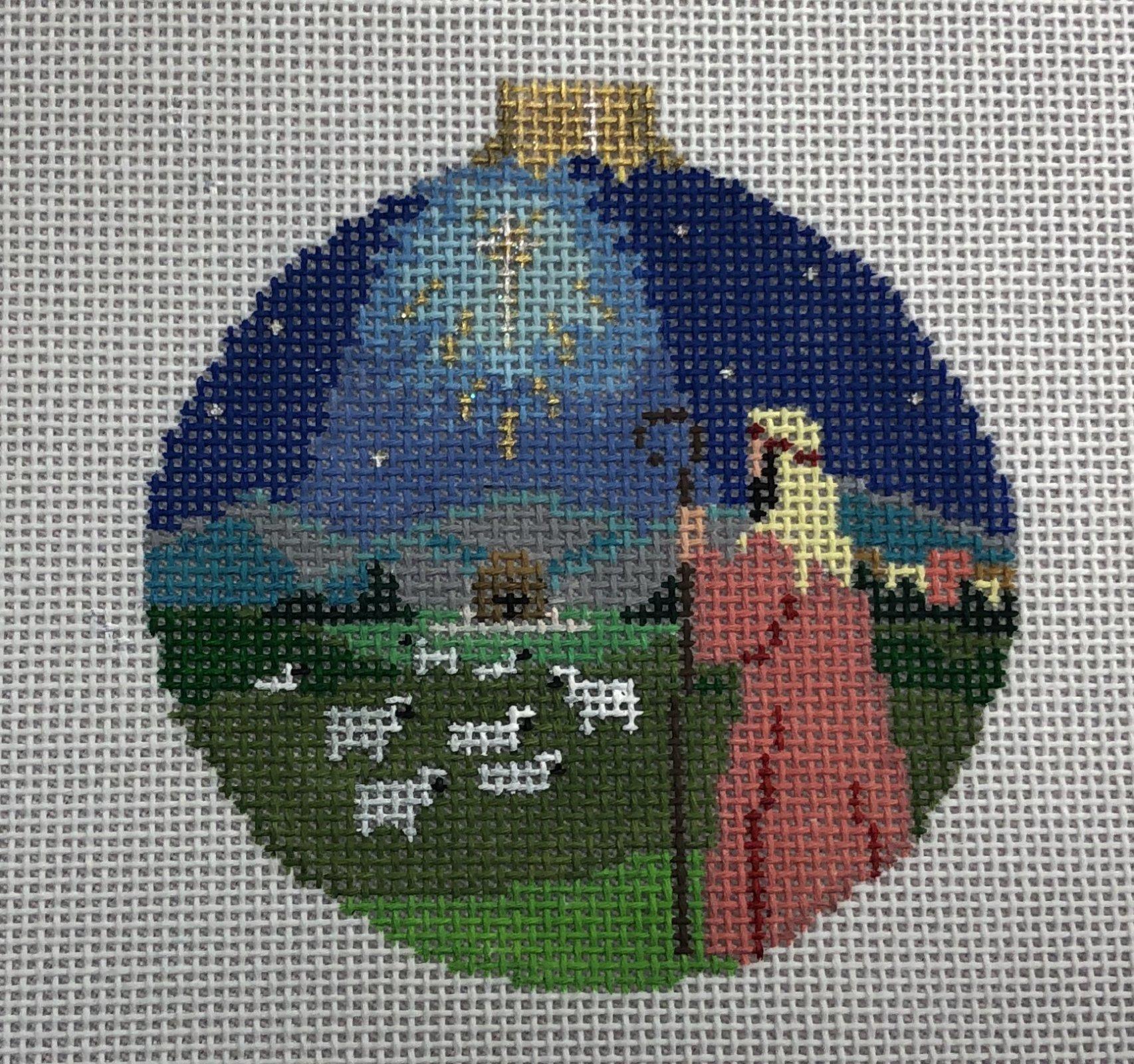 nativity shepherd round