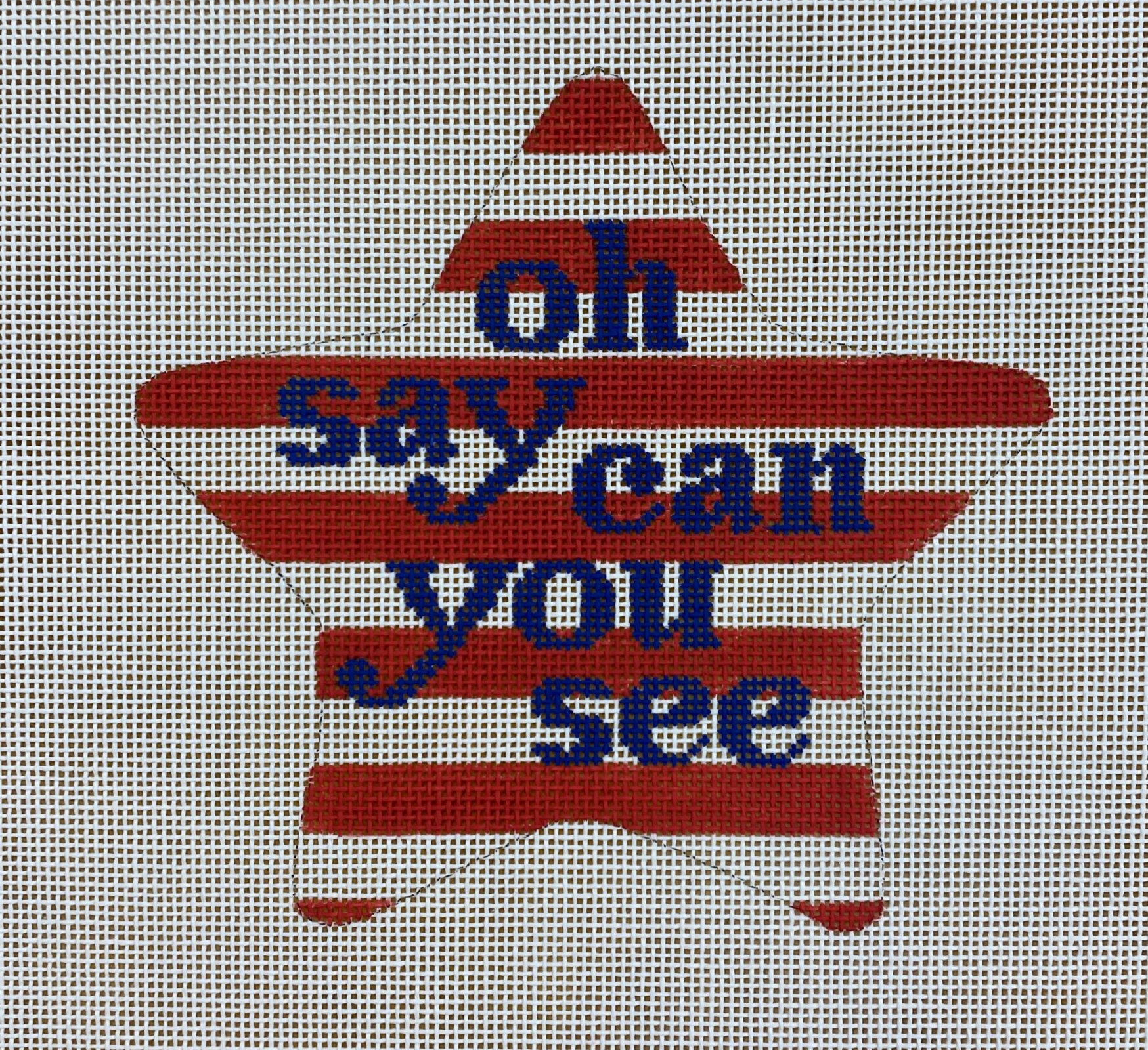patriotic star, oh say can you see