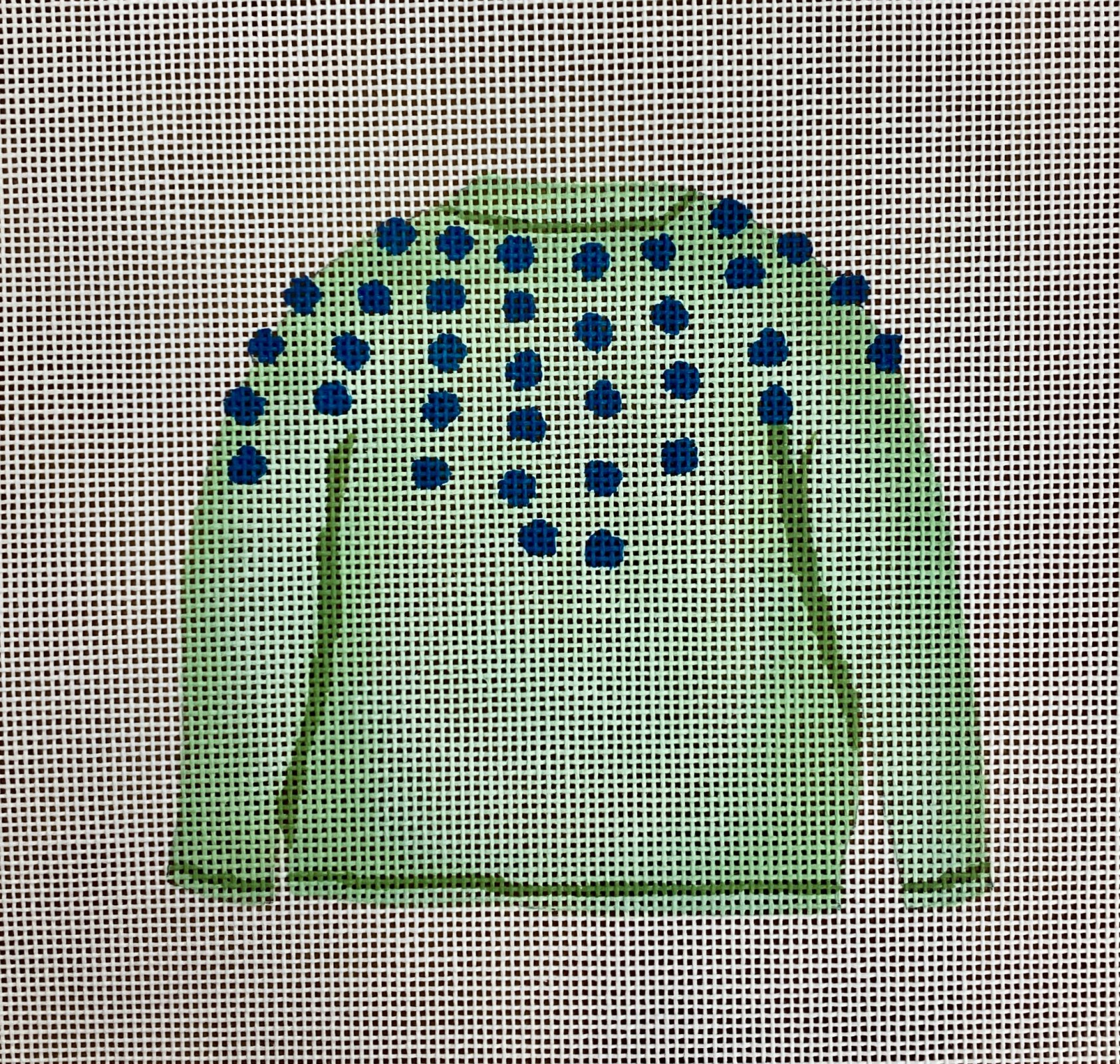 mint pom sweater