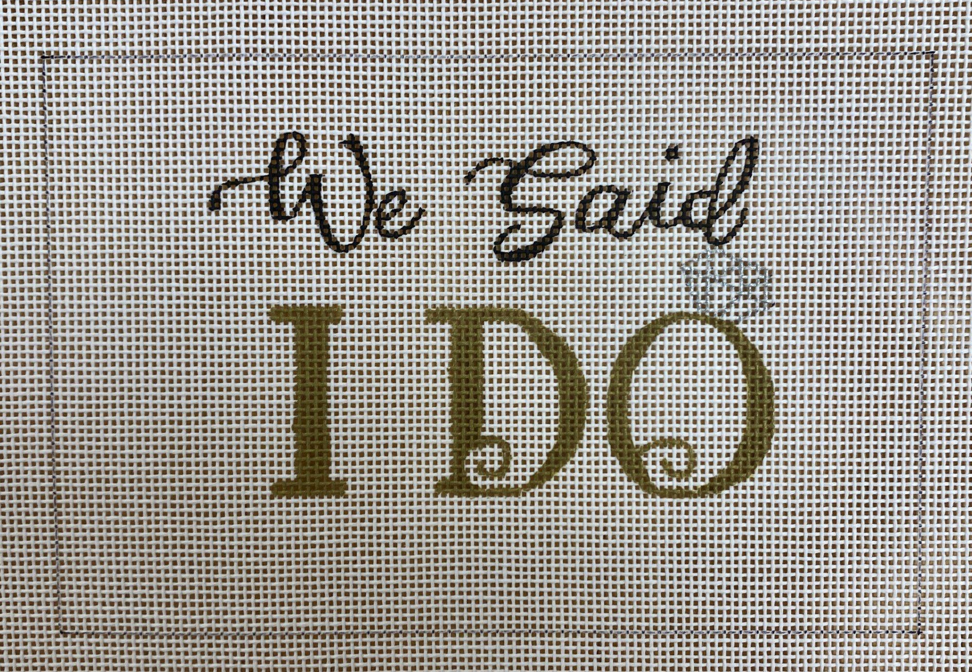 we said i do