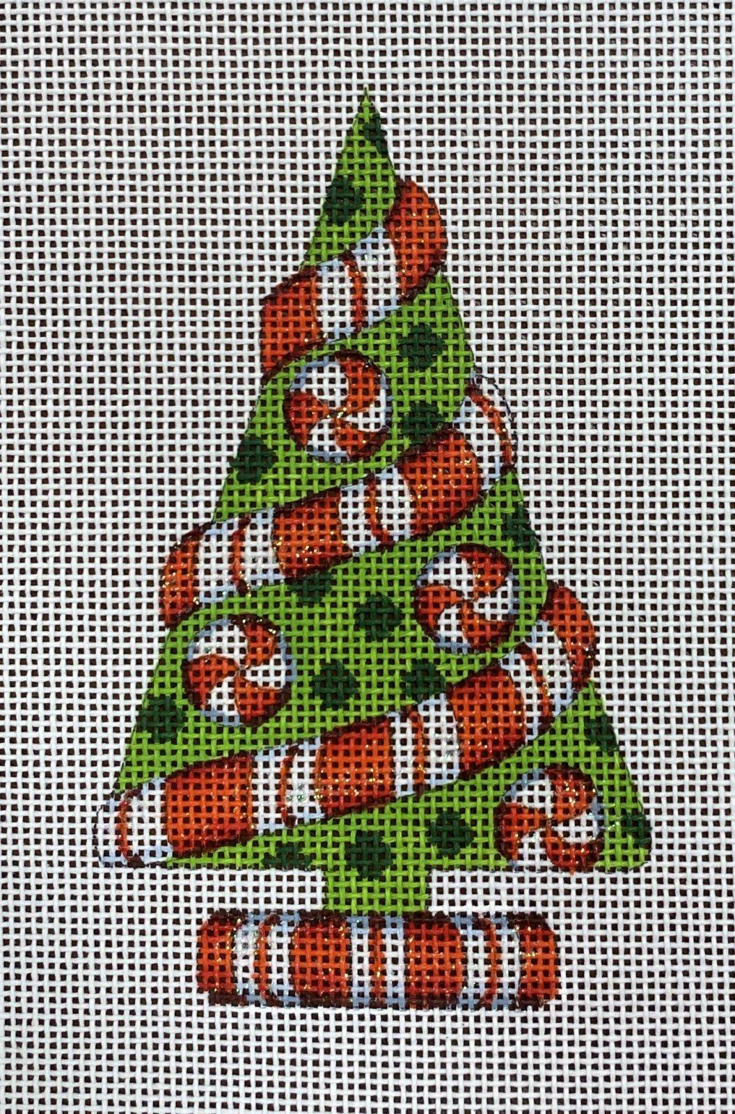 green tree w/ peppermint twist