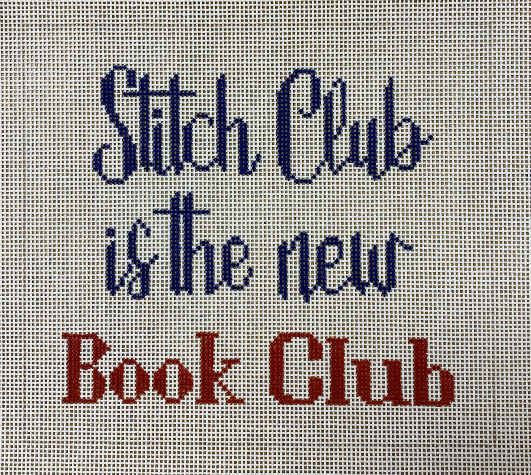 stitch club is the new book club
