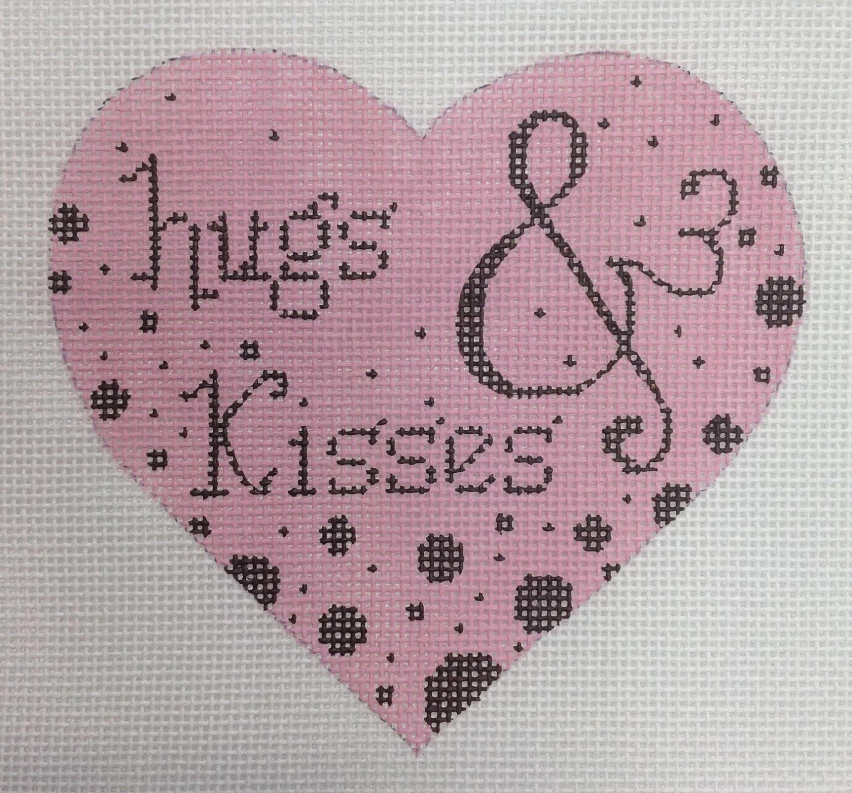 hugs & kisses heart