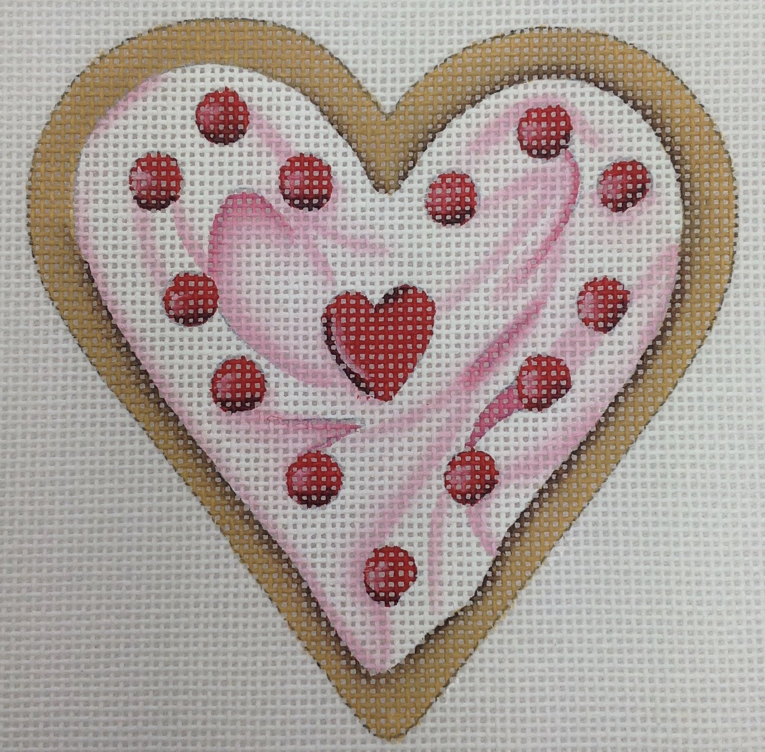 red hot cookie heart