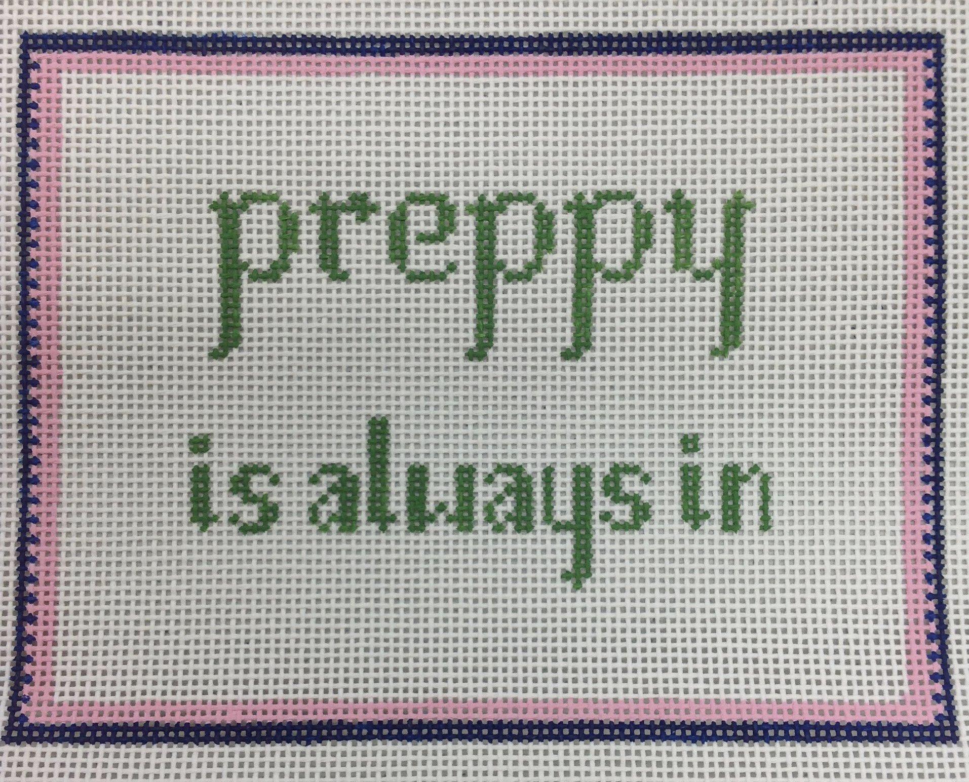 preppy...