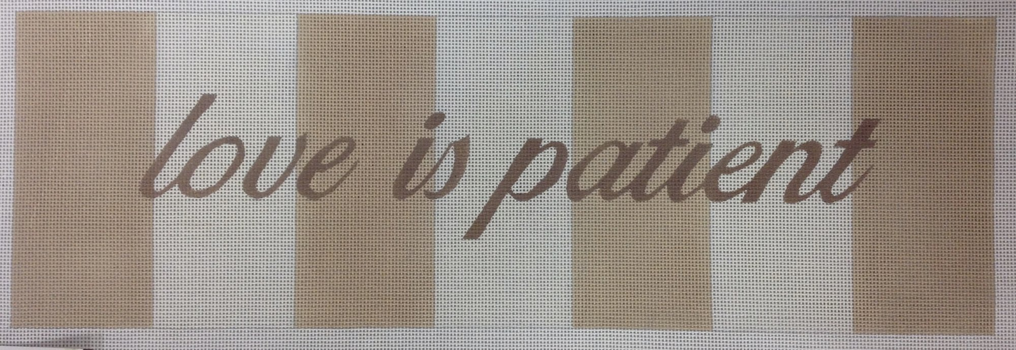 love is patient