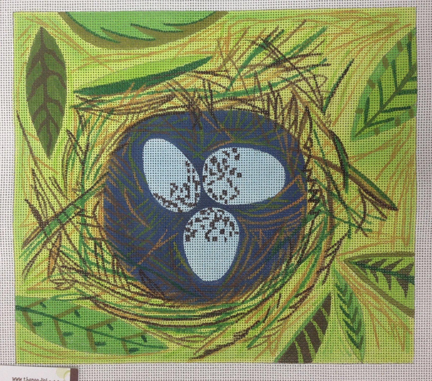 spring birds nest