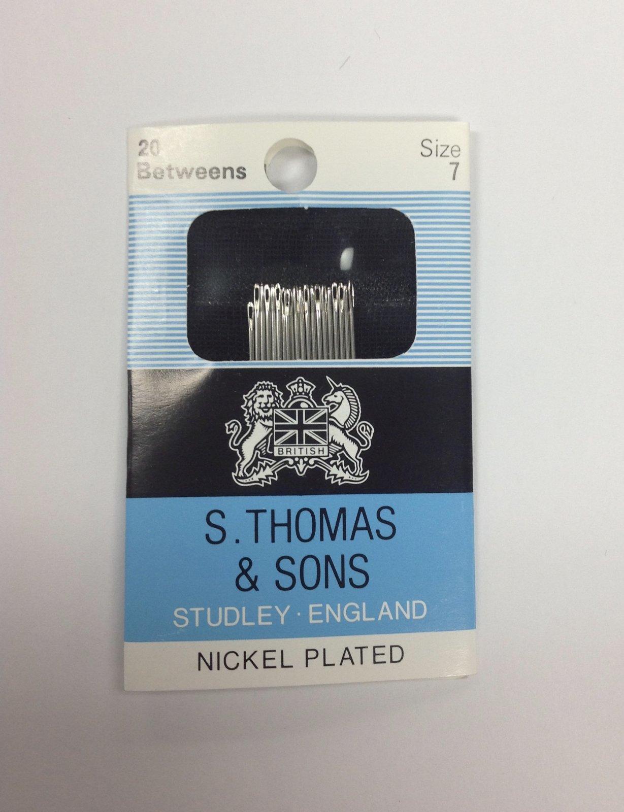 S. Thomas Beading Needles