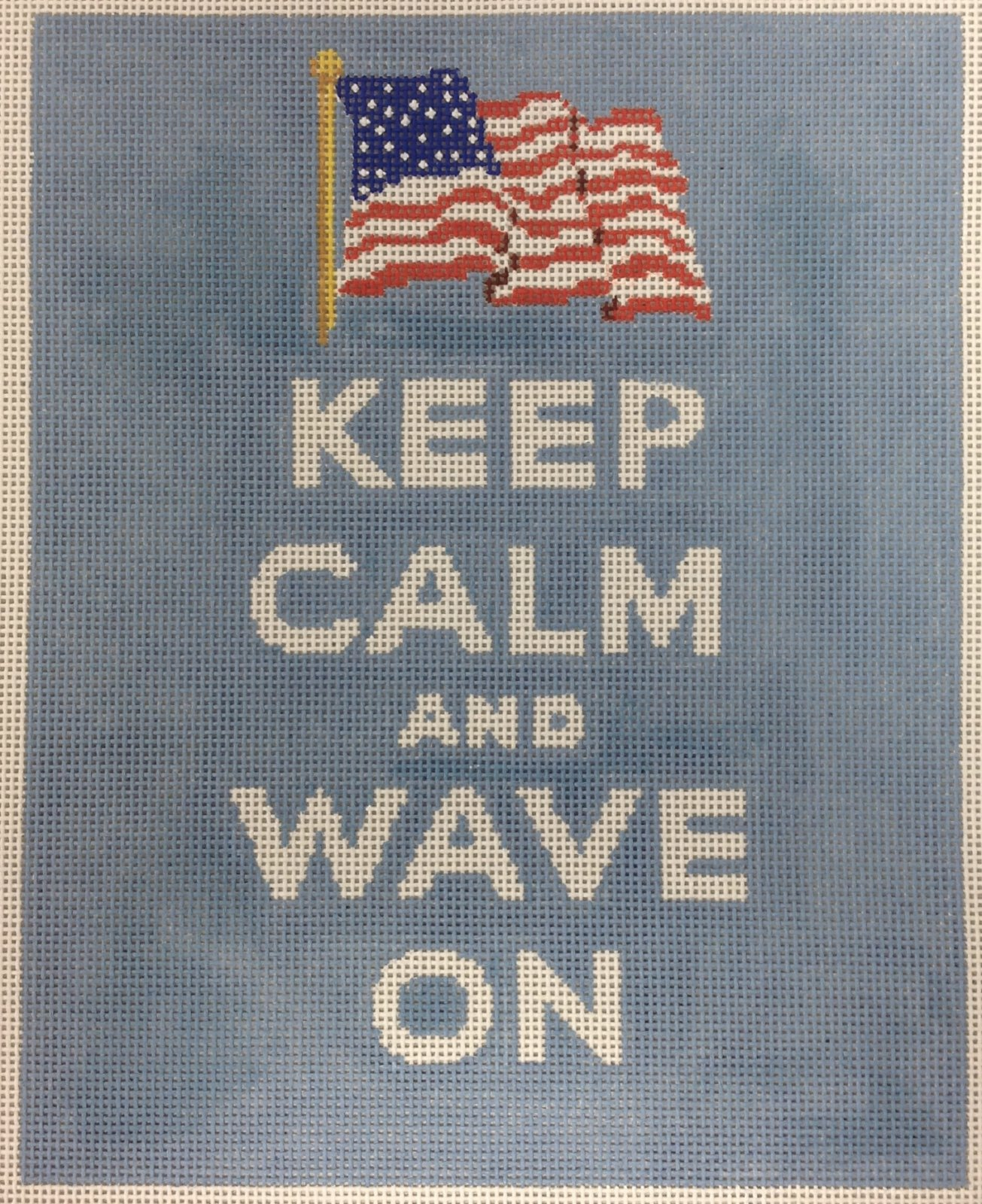 Keep Calm...wave on
