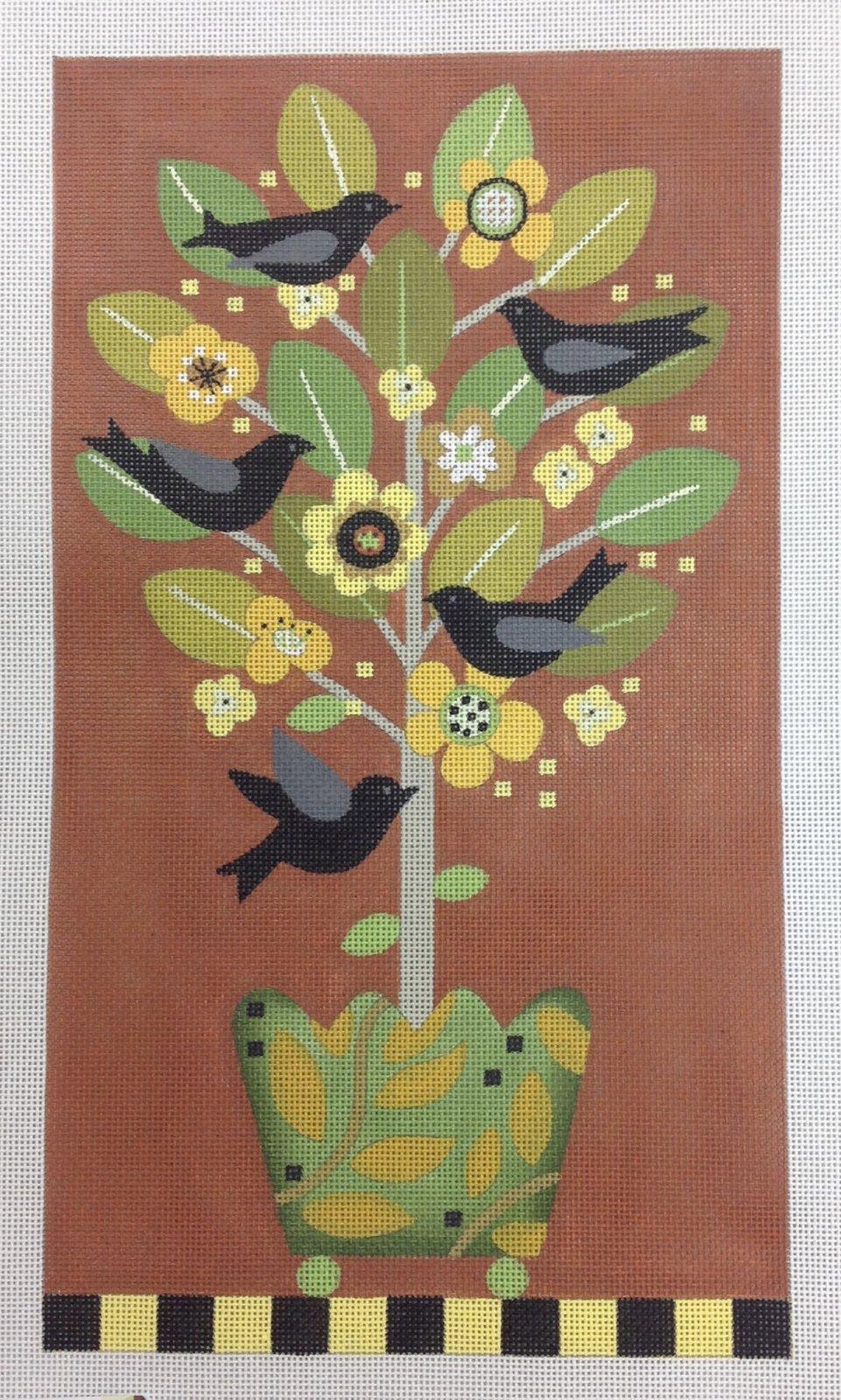 autumn bird topiary*