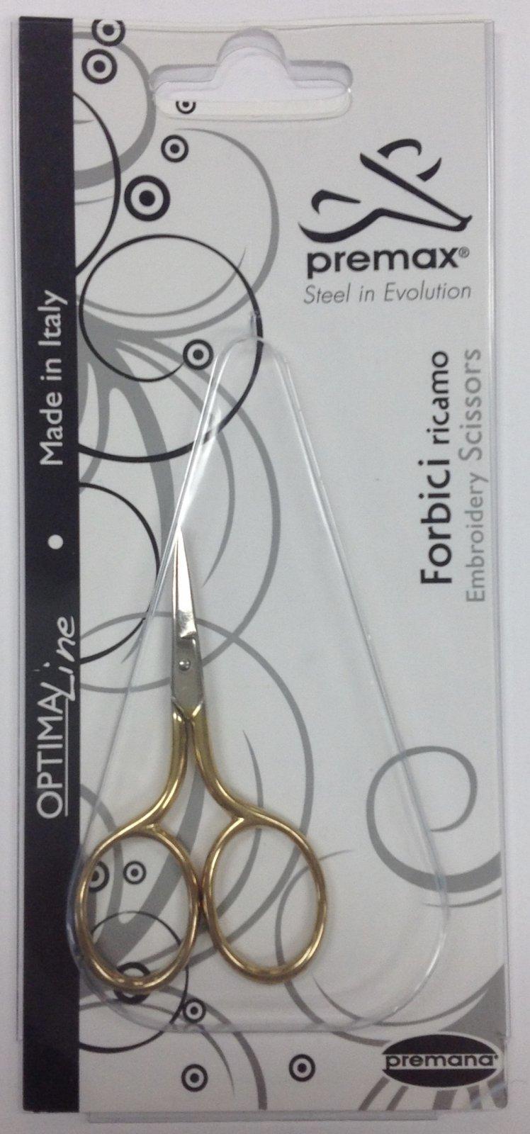 oremax embroidery gold scissors