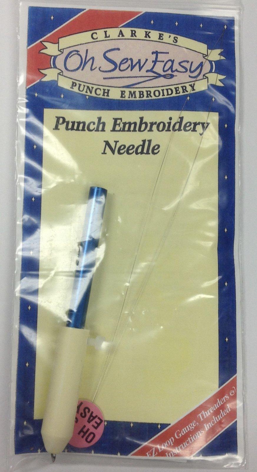 oh sew easy needle, blue