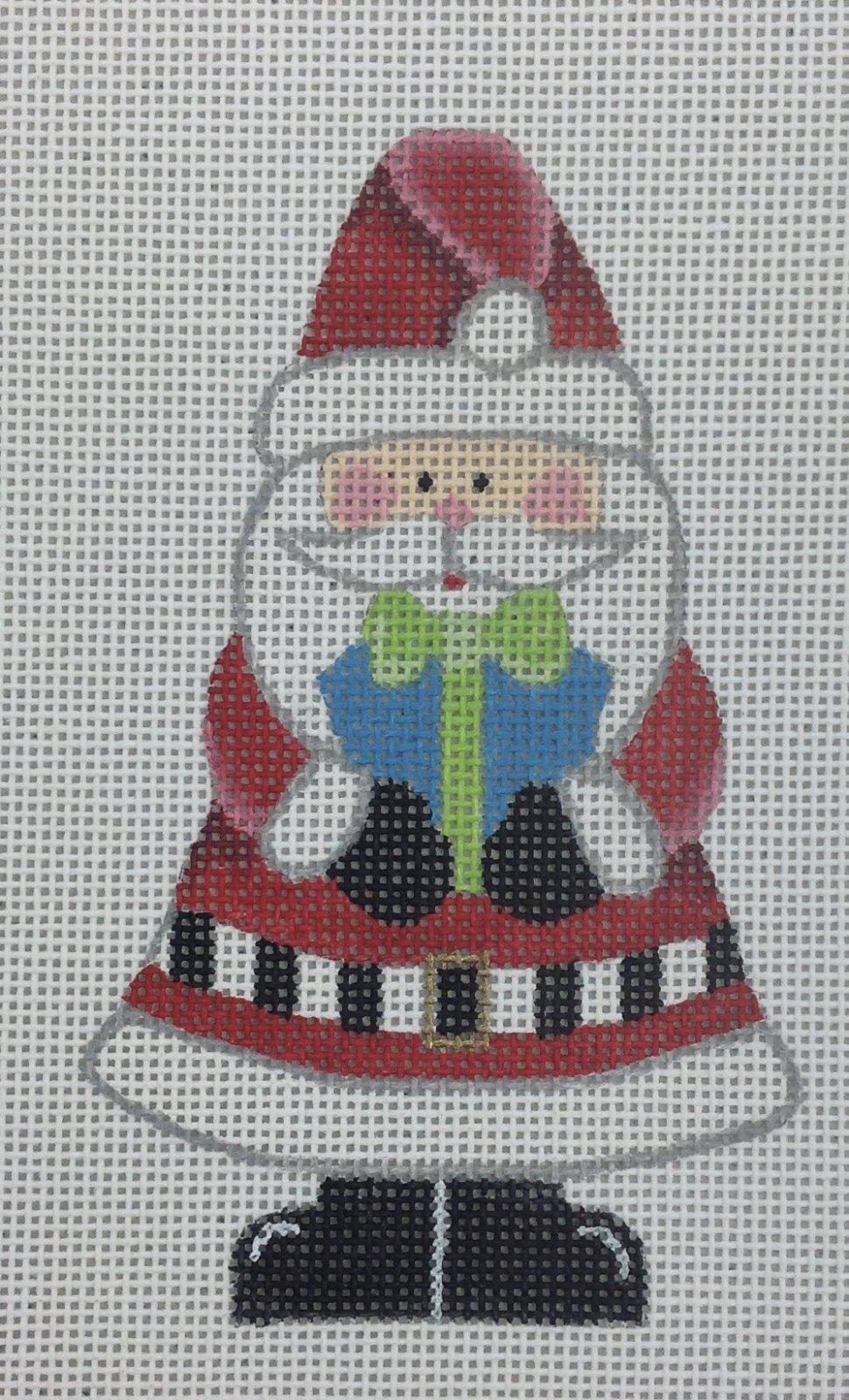 santa w preset ornament