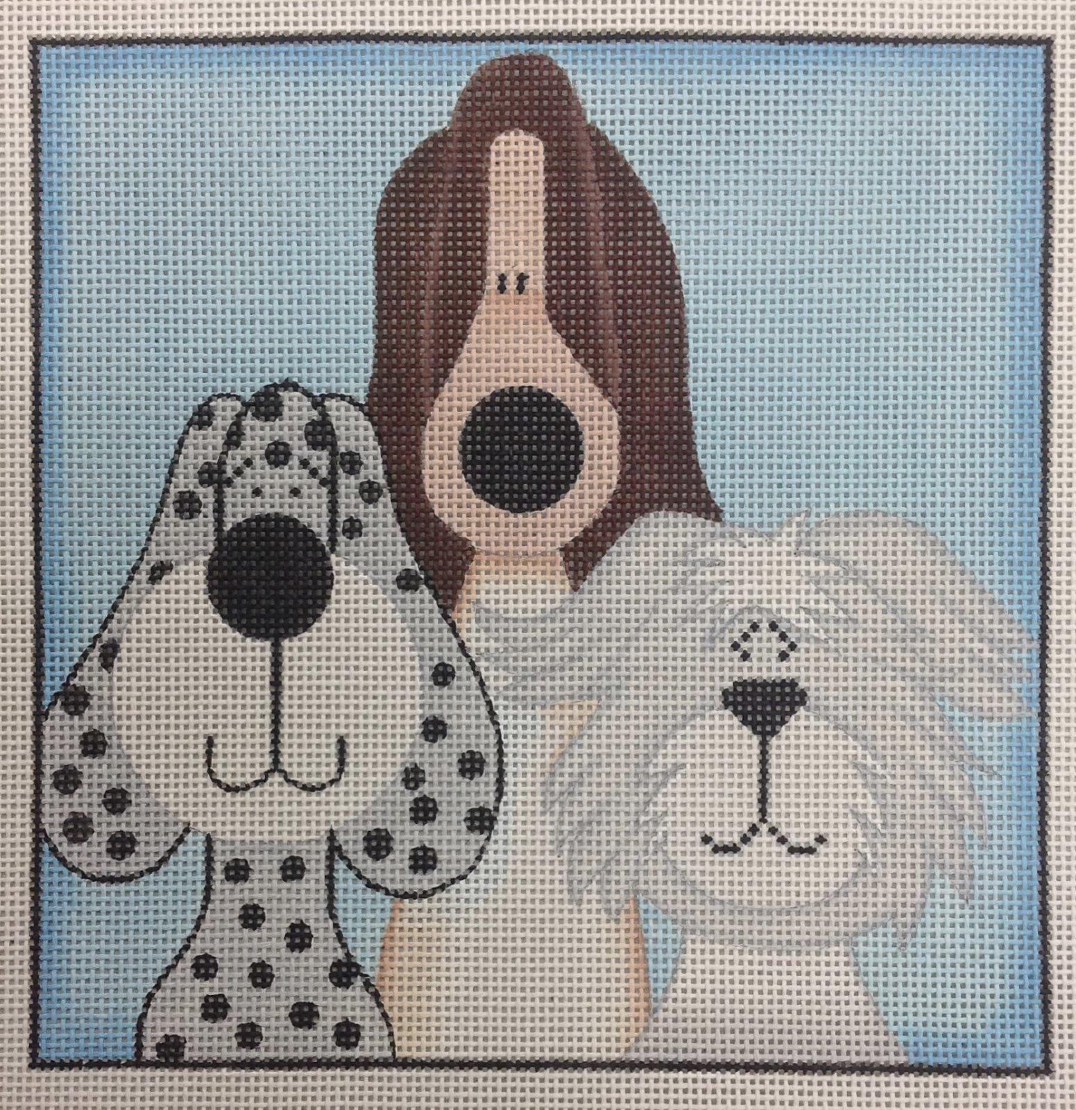 3 short whimsical pups