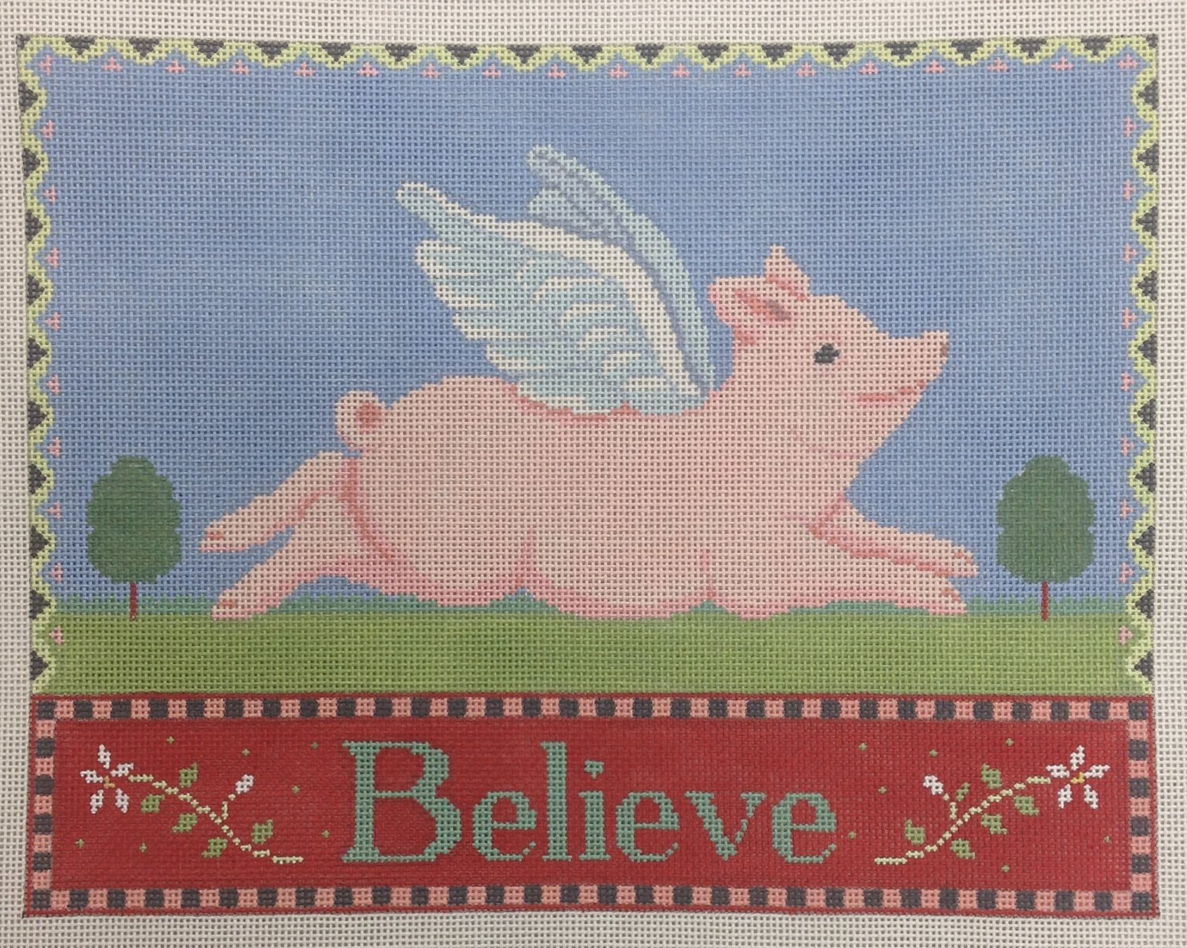 believe (pigs can fly)