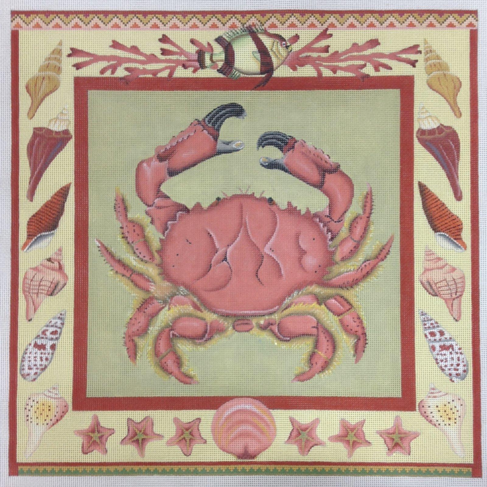 crab w sea border