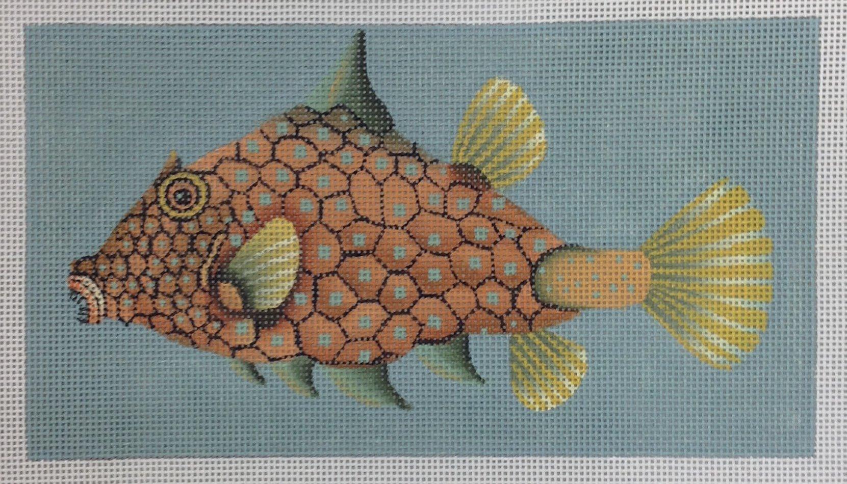 fancy blue dot fish